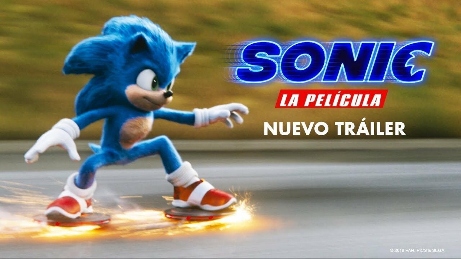 'Sonic: La película': el xou de Jim Carrey i l'eriçó blau ultraveloç