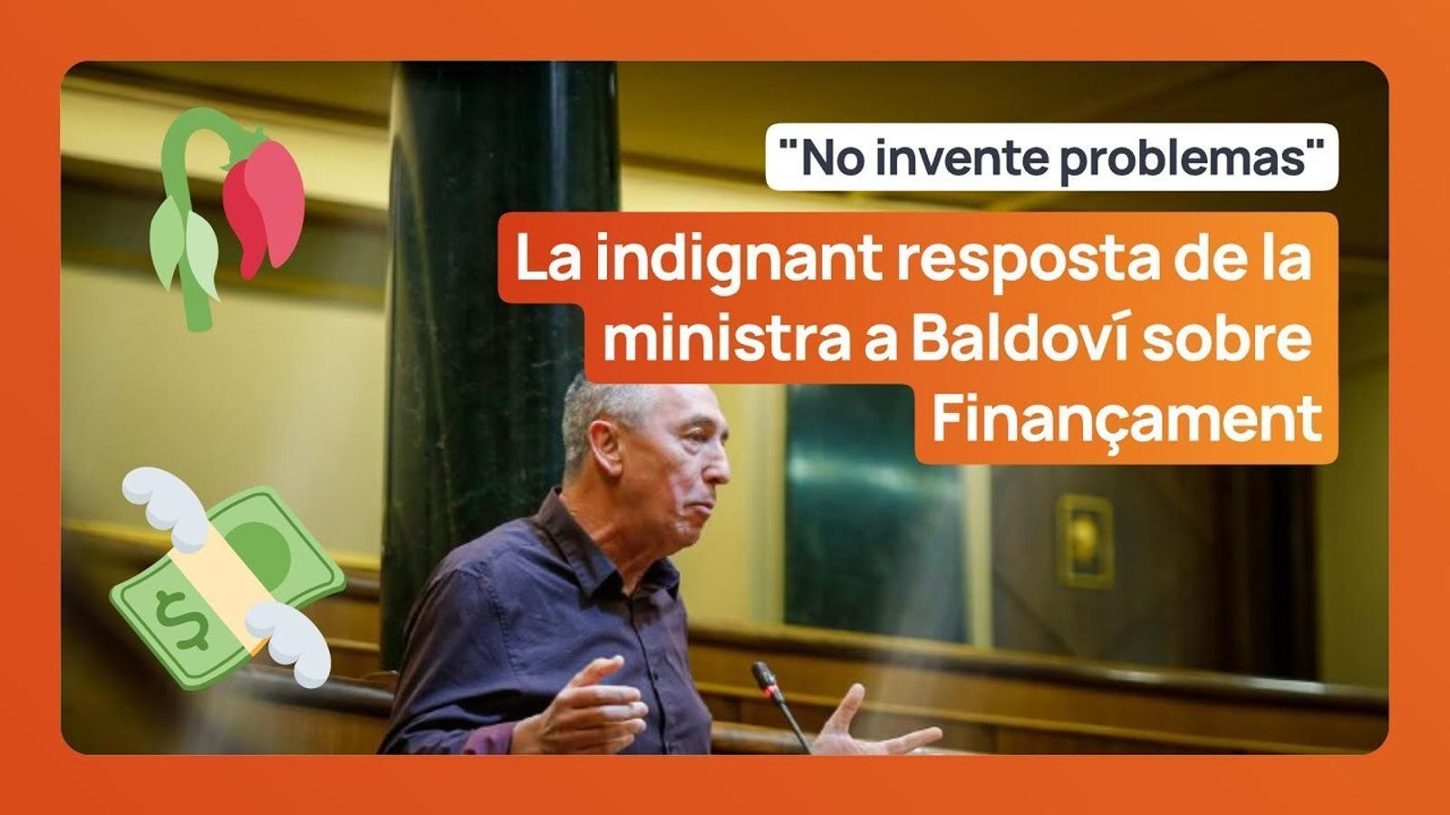 """La portaveu del govern espanyol reclama a Joan Baldoví que no """"s'invente problemes que no existeixen"""""""