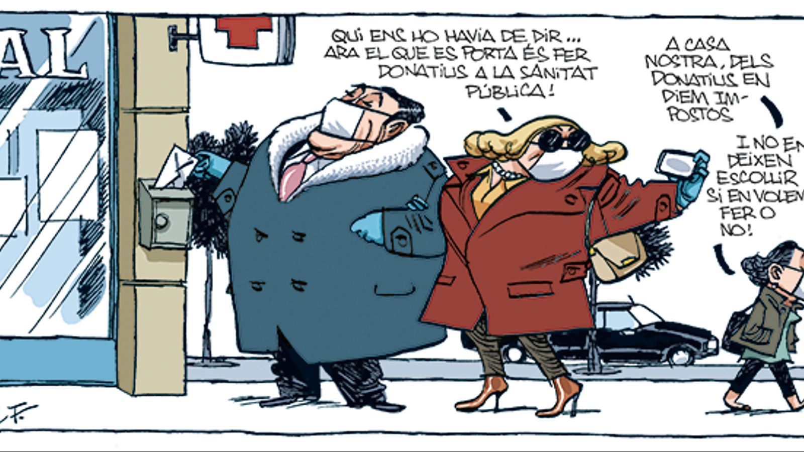 'A la contra', per Manel Fontdevila 31/03/2020