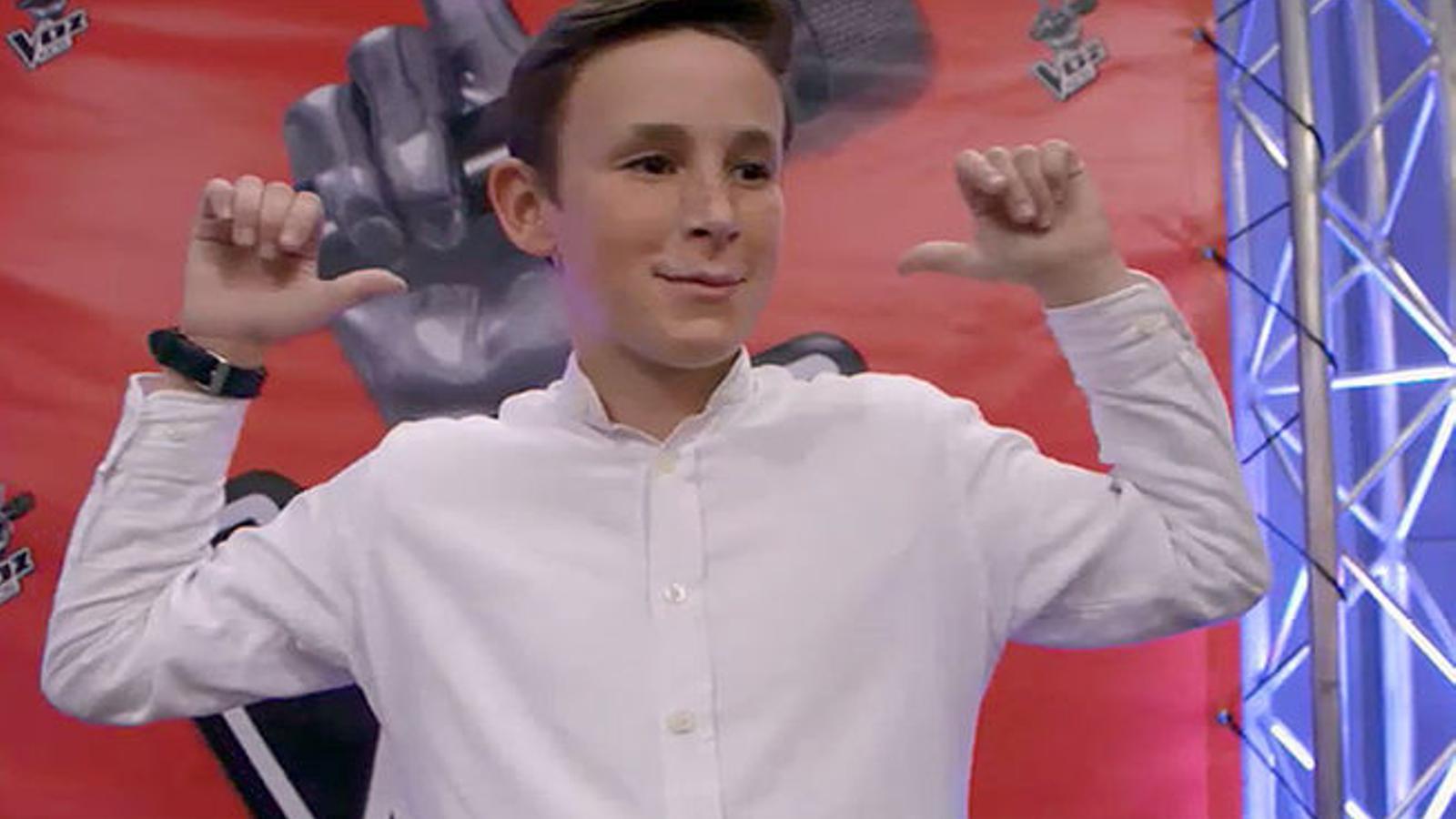 José María, guanyador de 'La Voz Kids'