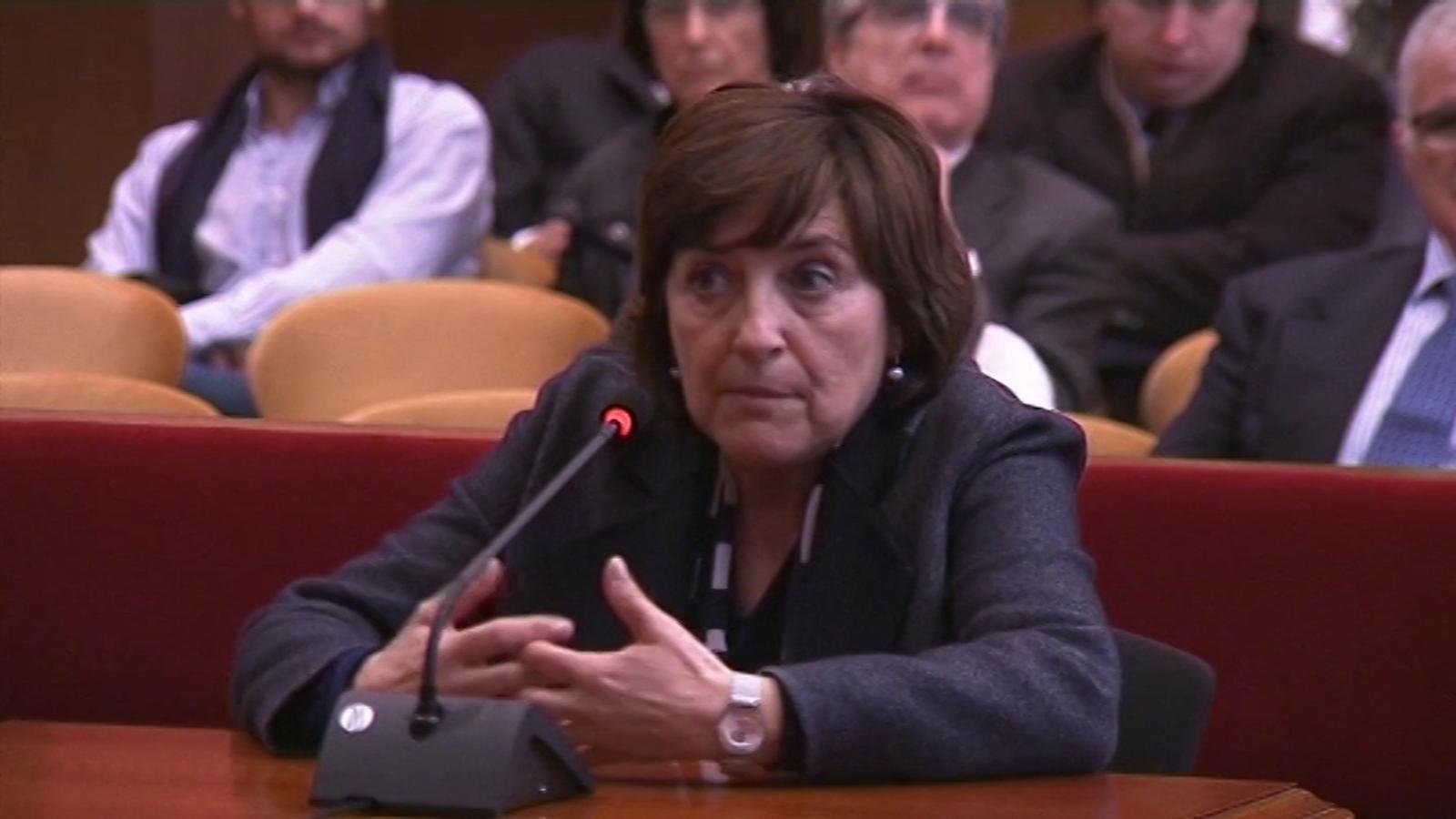 Montserrat Llobet, exdirectora d'Ensenyament de Barcelona