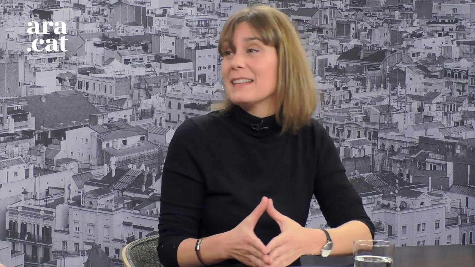 Entrevista d'Antoni Bassas a Jéssica Albiach
