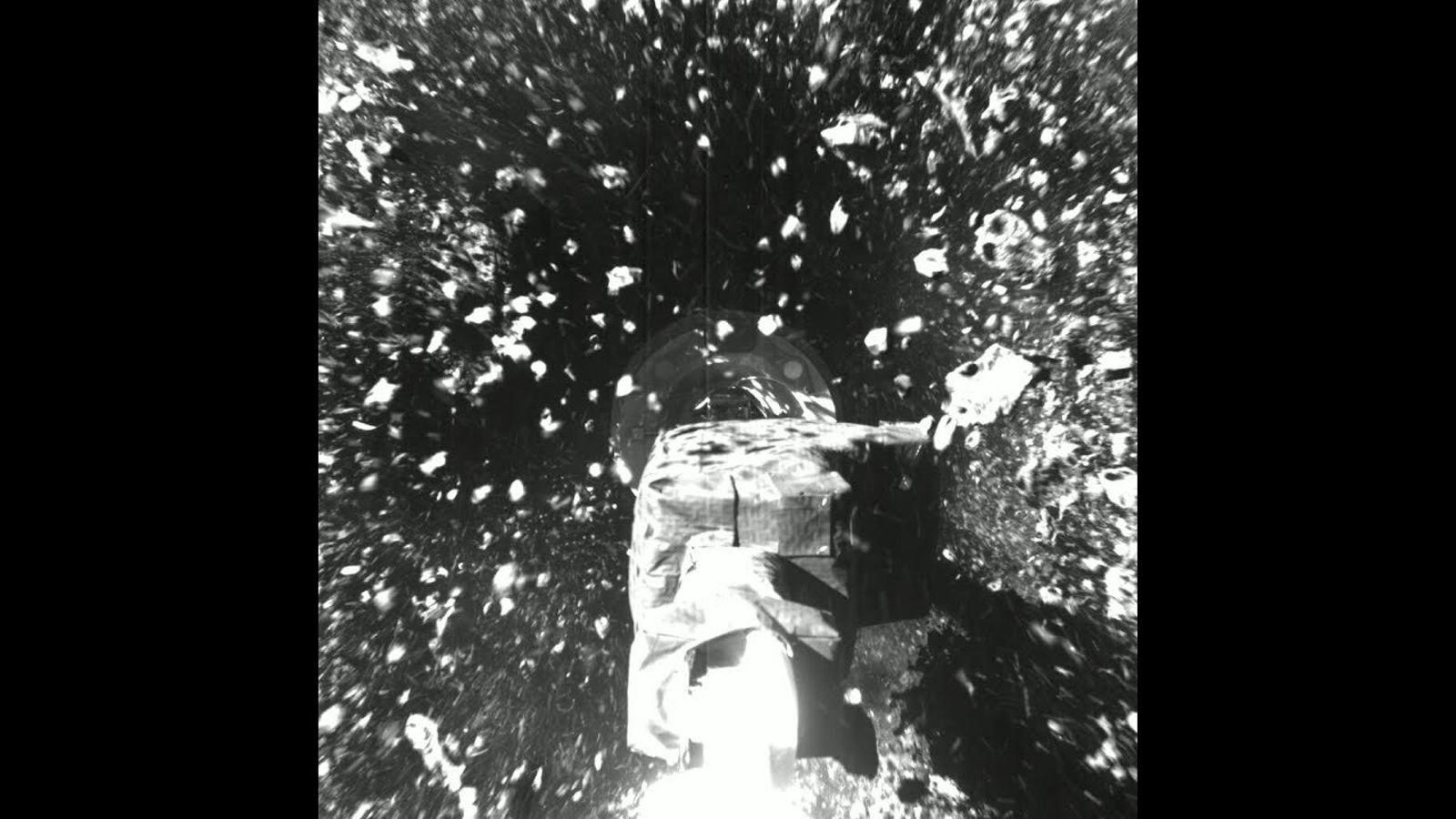 Arribada a l'asteroid Bennu