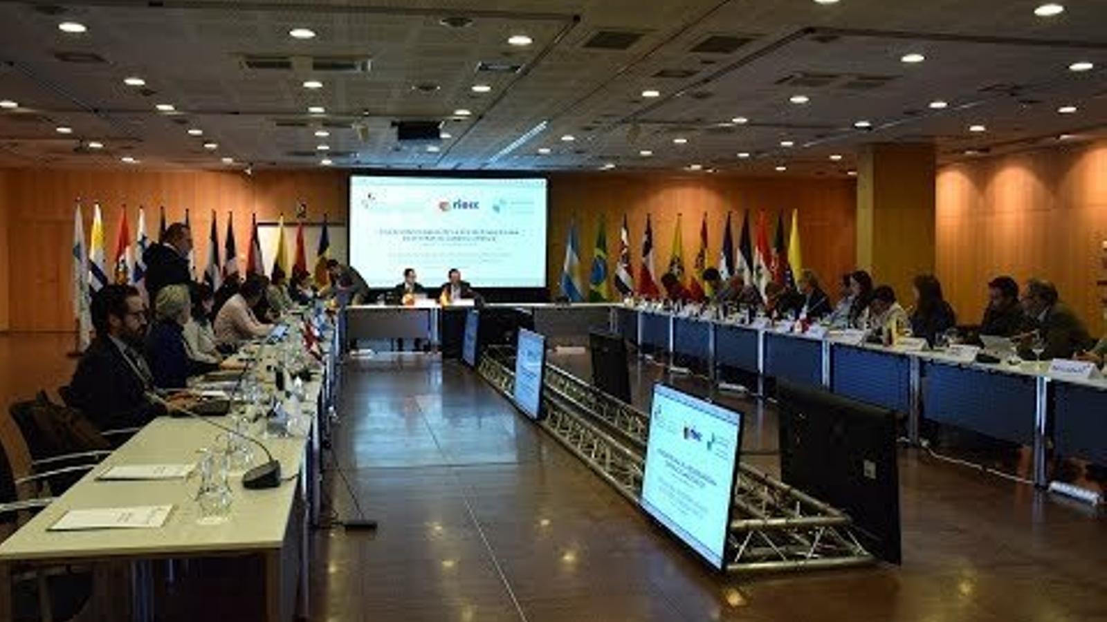 Cloenda de la trobada anual de la Xarxa Iberoamericana d'Oficines del Canvi Climàtic ( RIOCC)