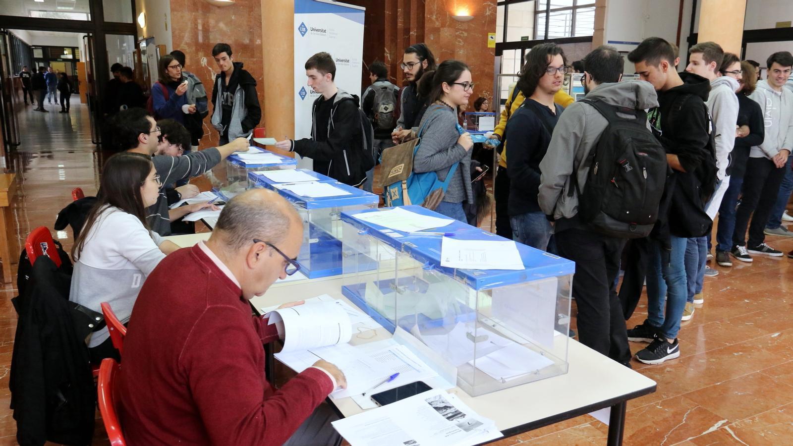 Les eleccions es varen dur a terme aquest dijous a la UIB