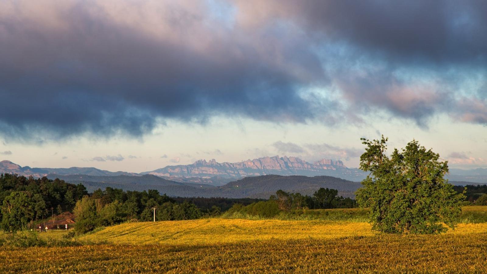 Sol, vent i tronades de tarda al nord del país