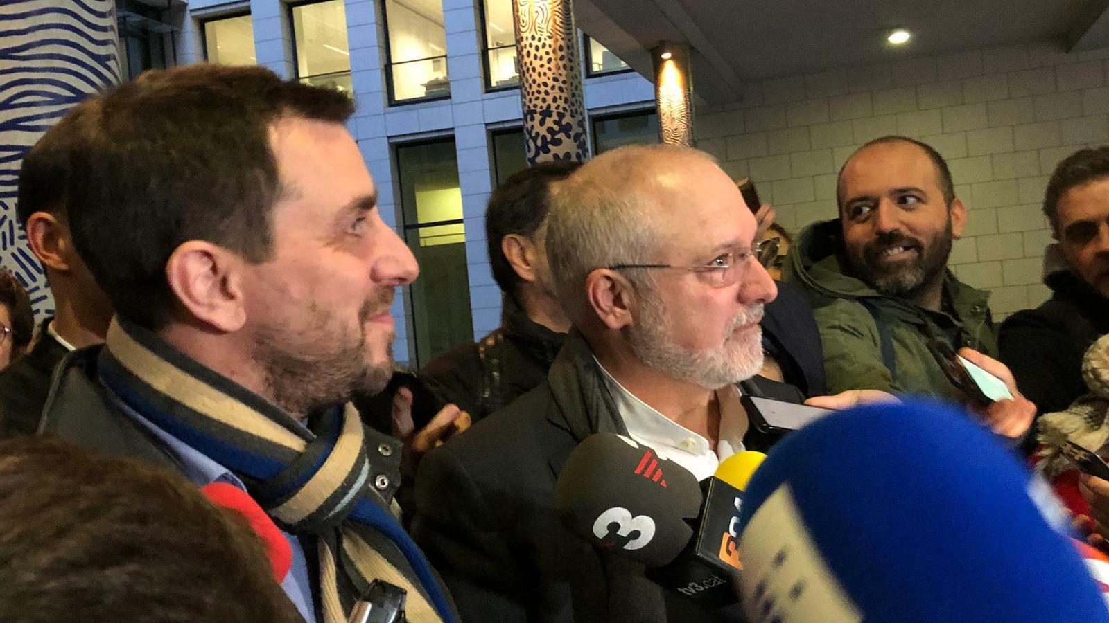 La justícia belga deixa en llibertat sense fiança Comín i Puig mentre estudia les euroordres