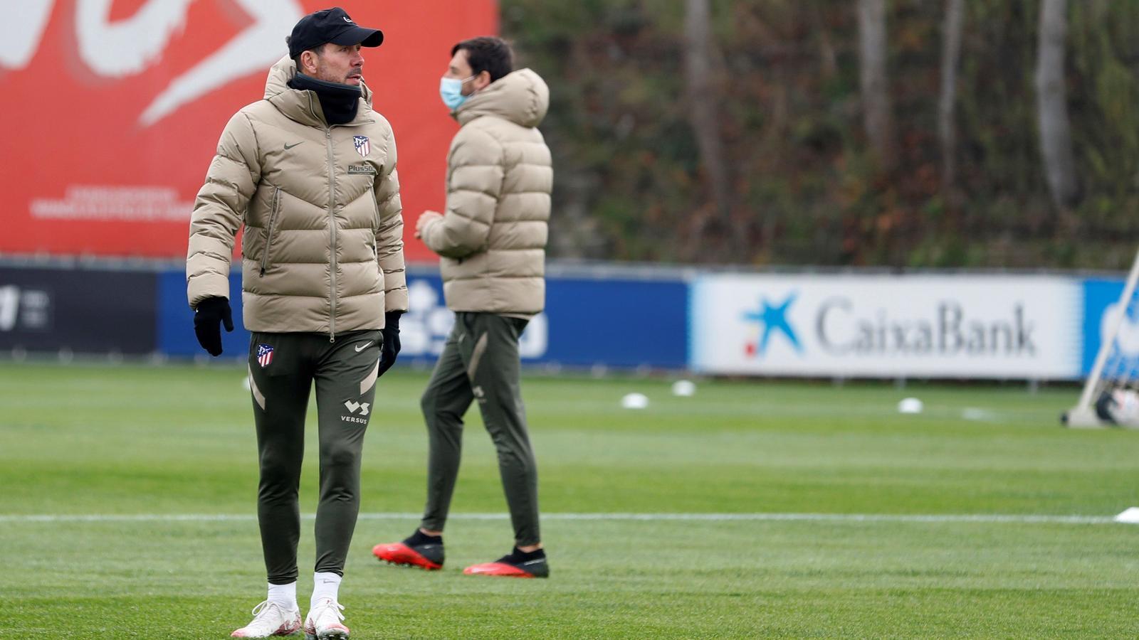 Diego Pablo Simeone, entrenador de l'Atletic de Madrid