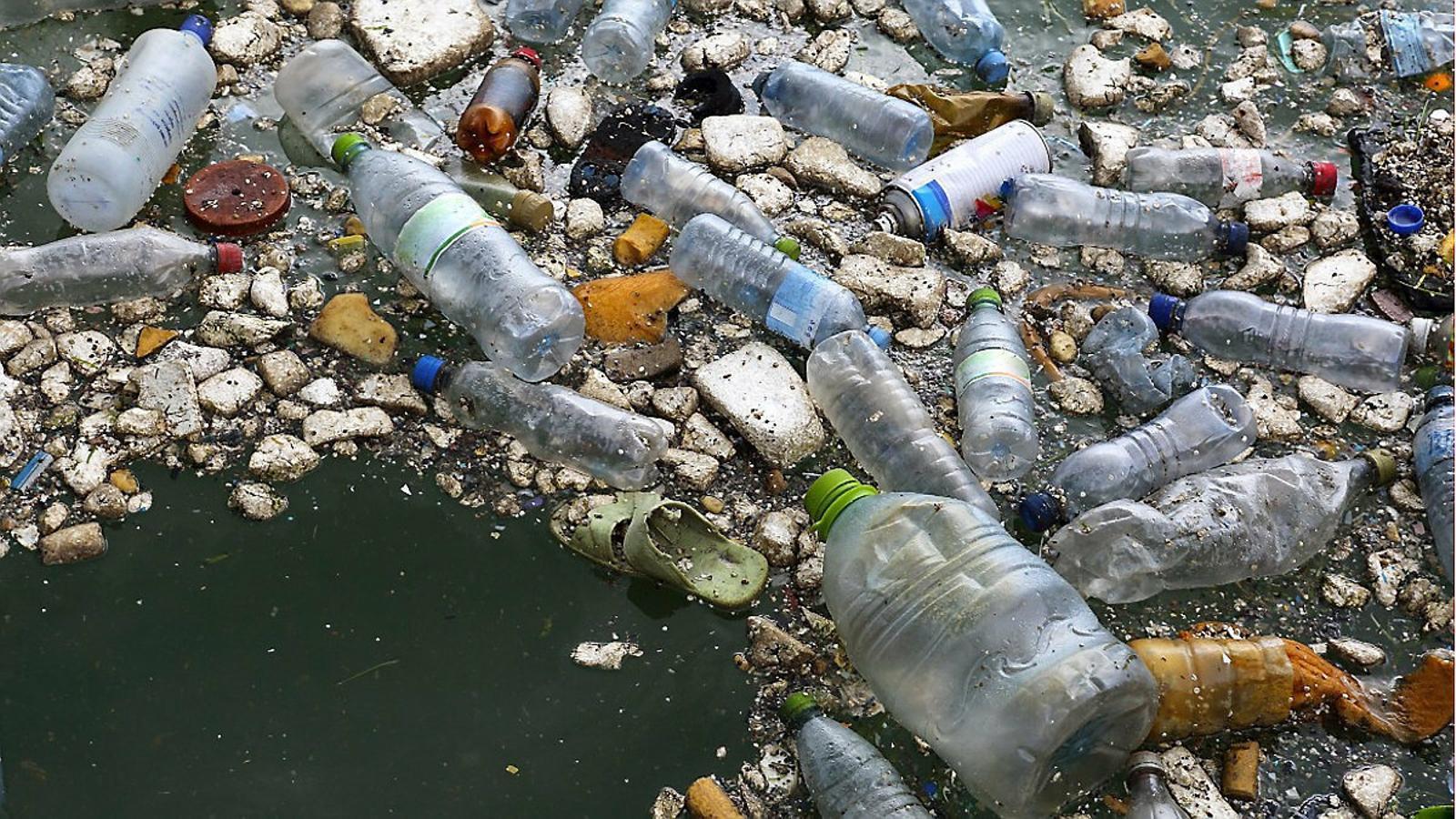 Més de la meitat dels residus recollits aquest estiu a la mar eren plàstics