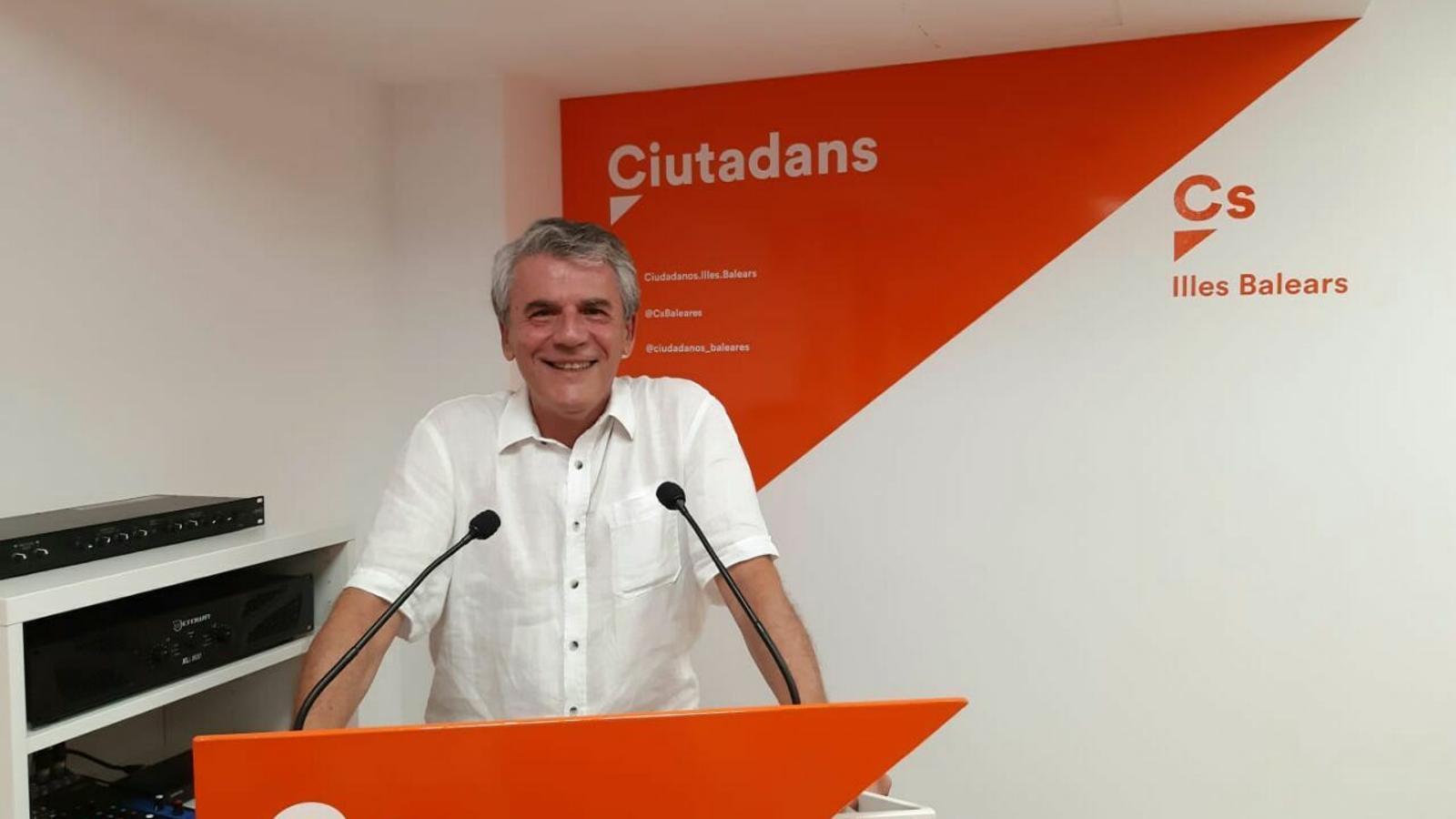 Juan Antonio Guzmán, nou coordinador de Ciutadans Palma