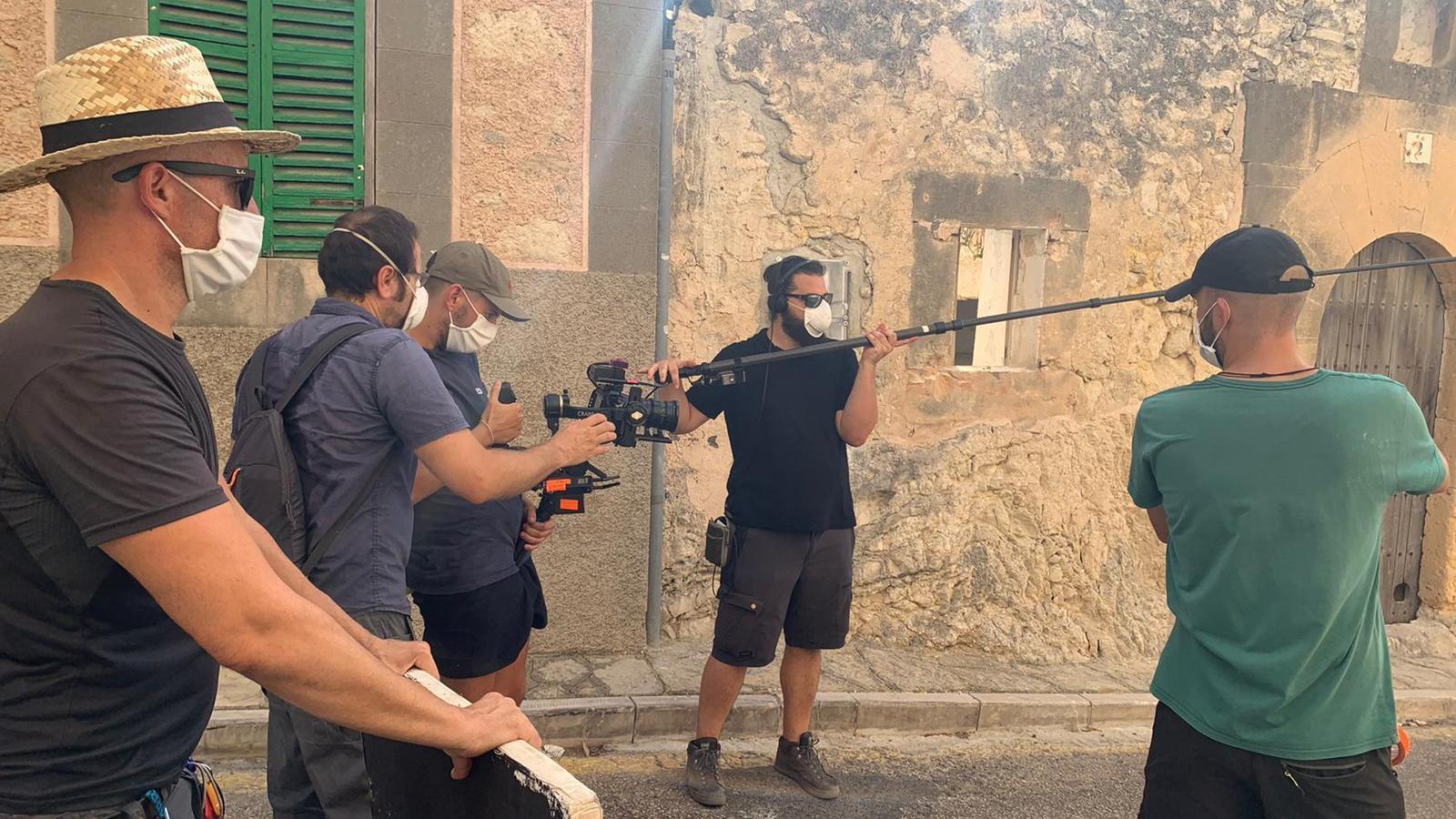 El rodatge es du a terme a Montuïri.