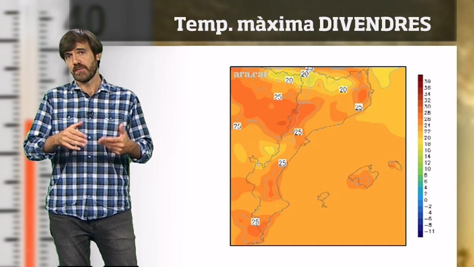 La méteo en 1 minut: migdies més càlids i pocs núvols