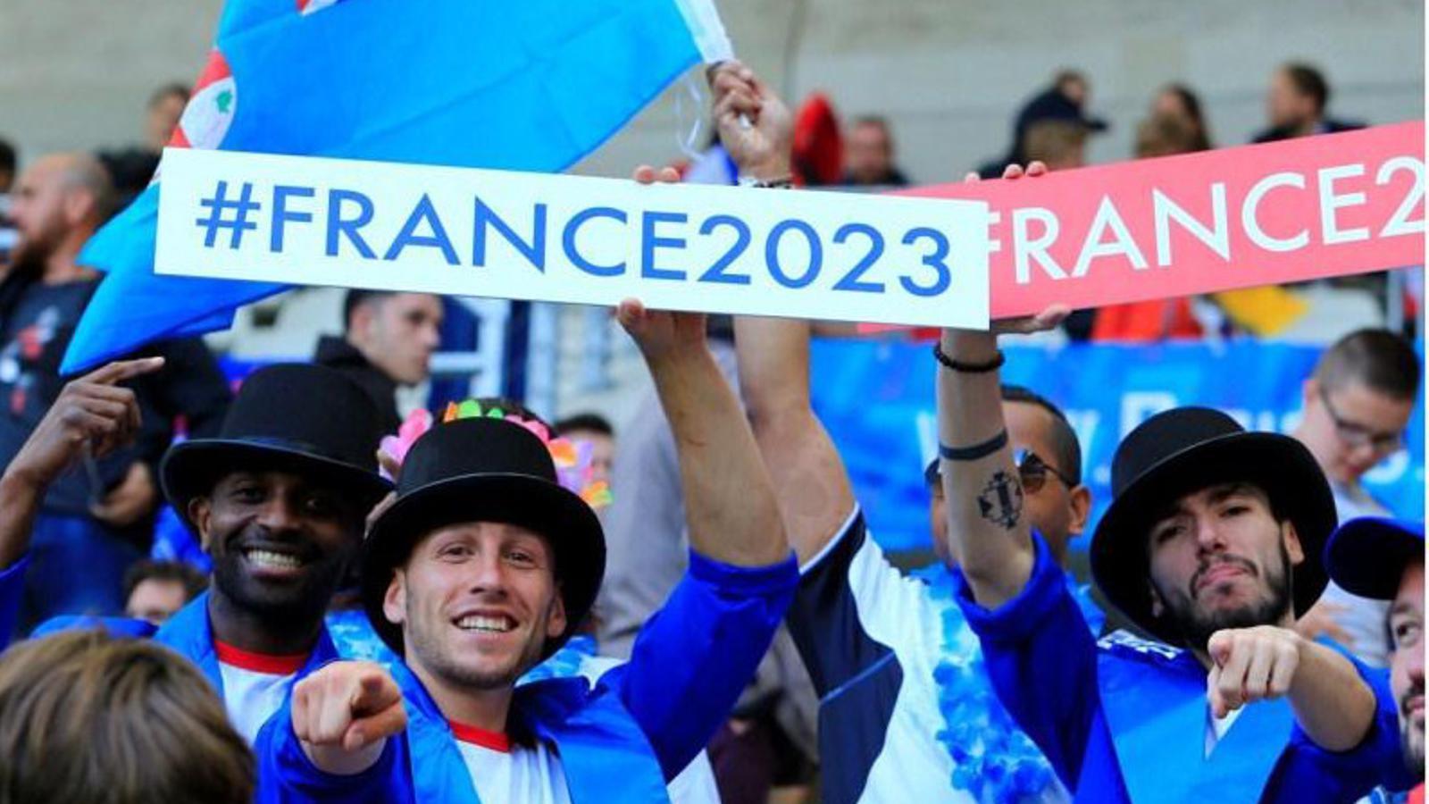França, seu del Mundial de rugbi de l'any 2023