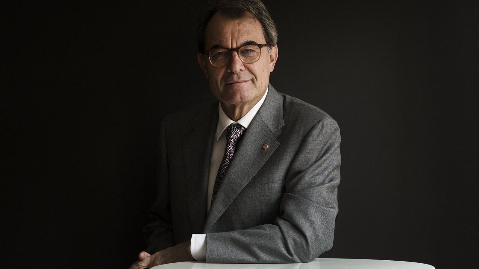 """Artur Mas: """"Hi ha gent que vol fracturar Catalunya i la missió del Govern ha de ser evitar-ho"""""""
