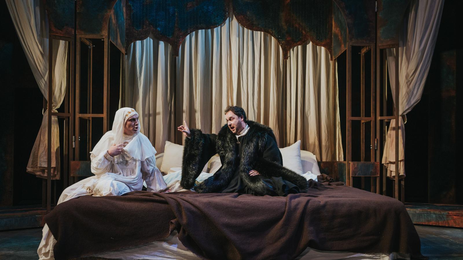 'Feísima enfermedad y muy triste muerte de la reina Isabel I' al Teatre Lliure