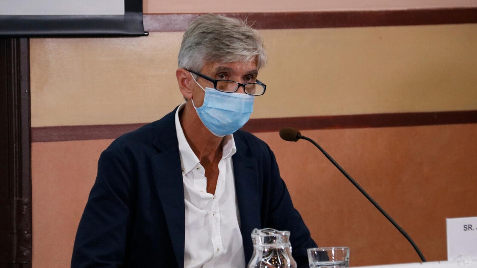 EN DIRECTE | El secretari de Salut Pública de la Generalitat actualitza la situació epidemiològica de Catalunya