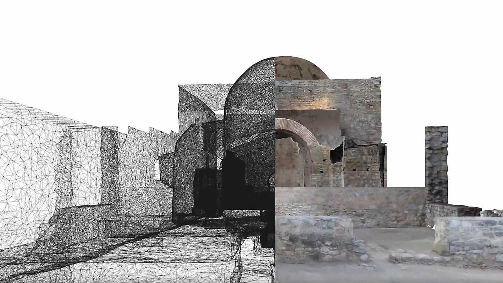 Restauracions 3D: Ullastret, Ripoll i Taüll, tres casos d'èxit a Catalunya