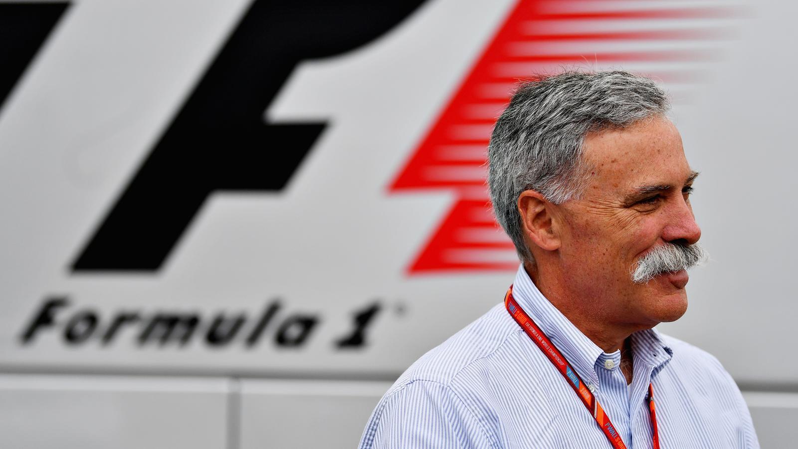 Chase Carey és el president i conseller delegat de Formula One Group.