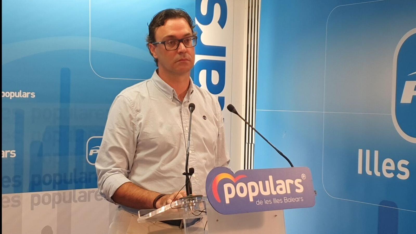 El portaveu parlamentari del PP balear, Antoni Costa. / PP