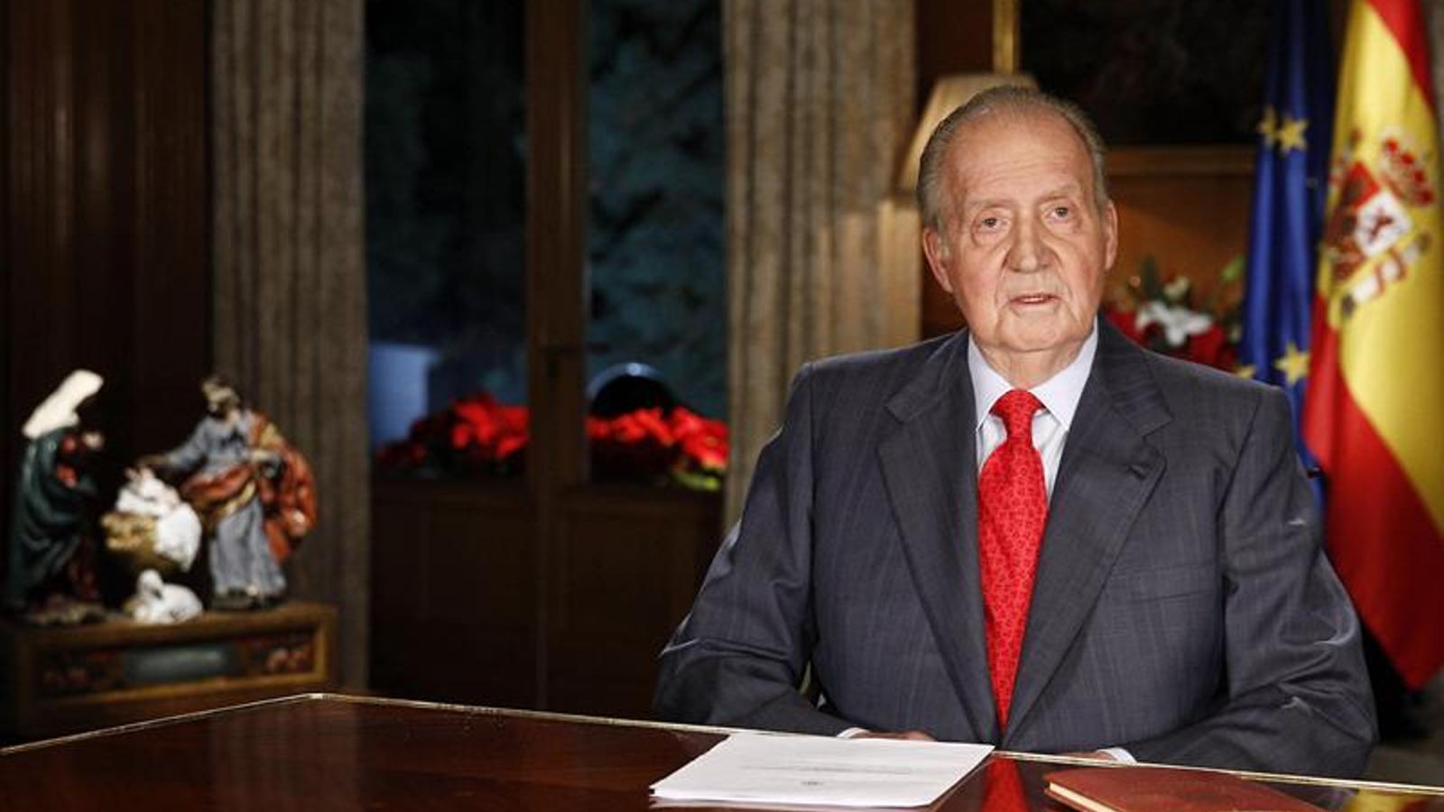 Missatge de Nadal del rei Joan Carles