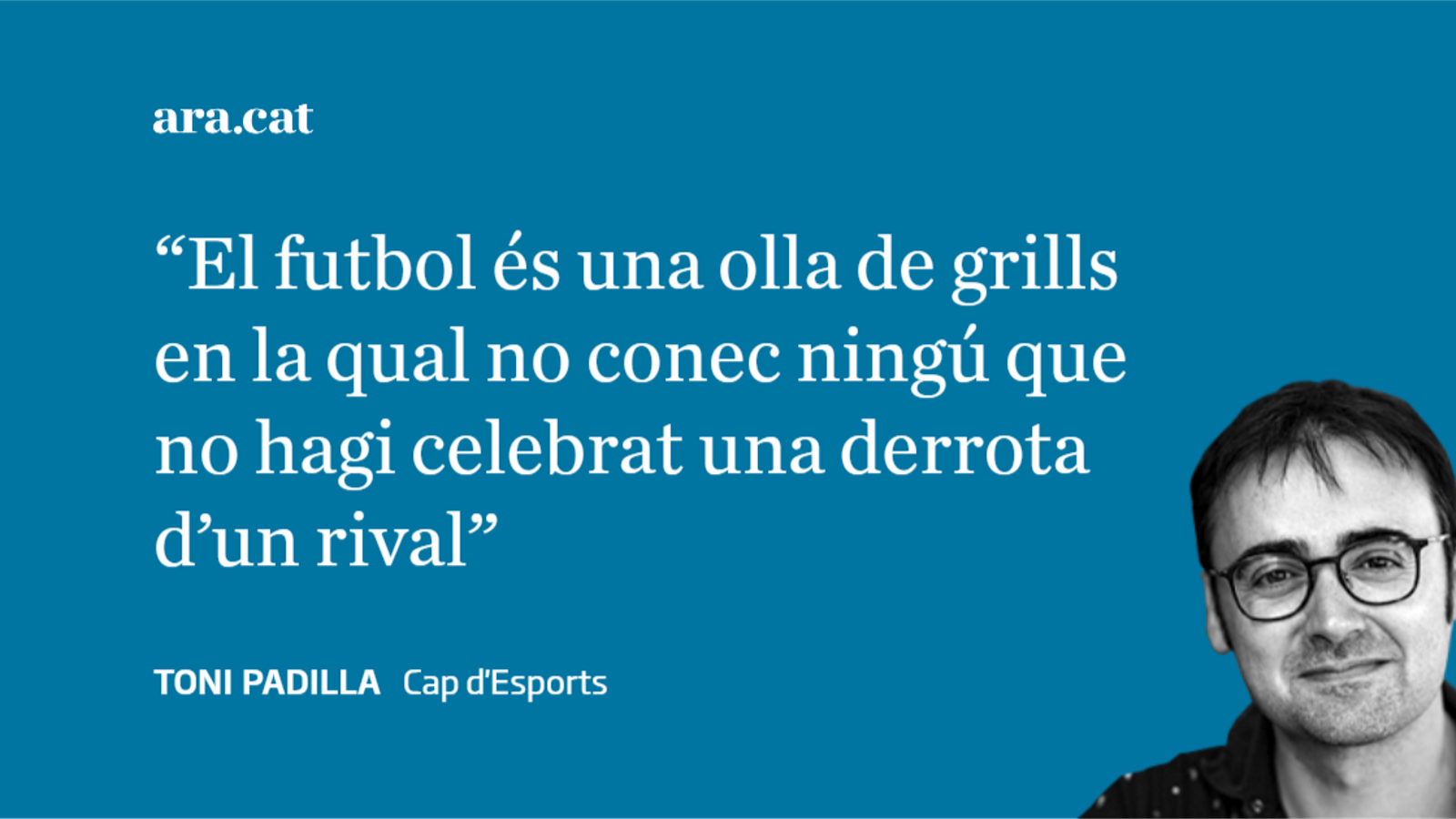 Una derrota de tot el futbol català