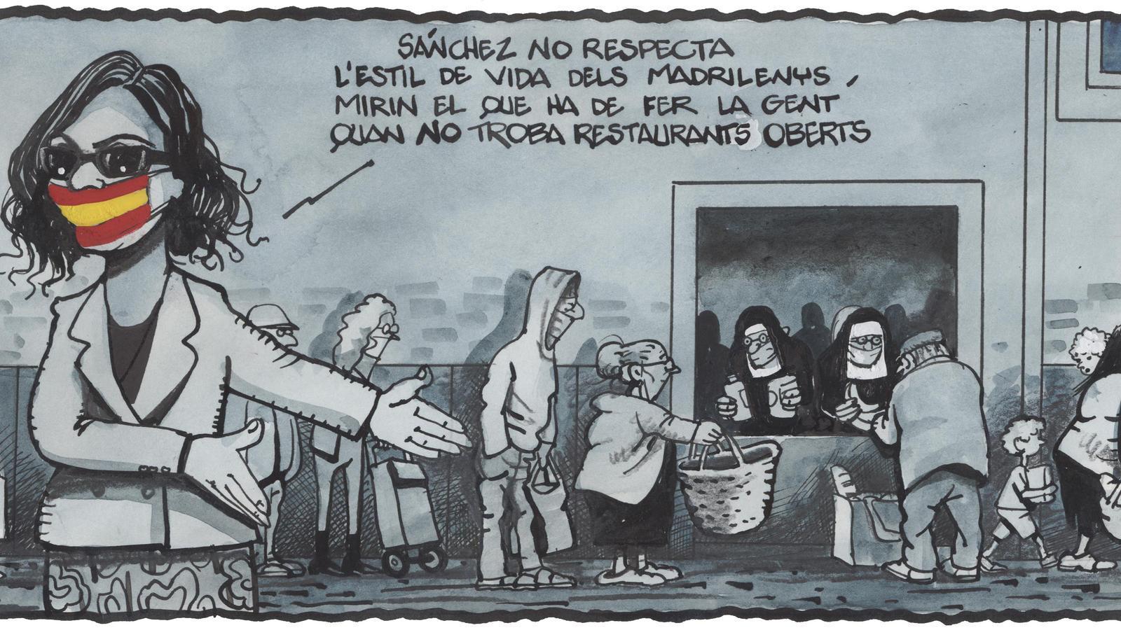 'A la contra', per Ferreres 20/05/2020