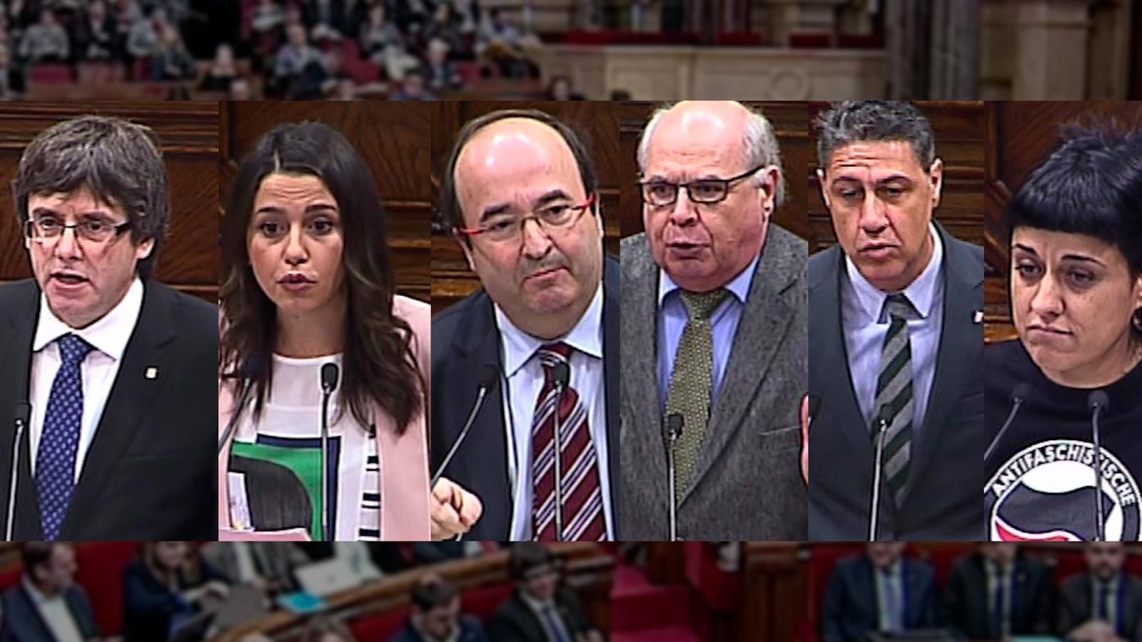 Així ha respost l'oposició a les crítiques de Puigdemont del judici del 9-N