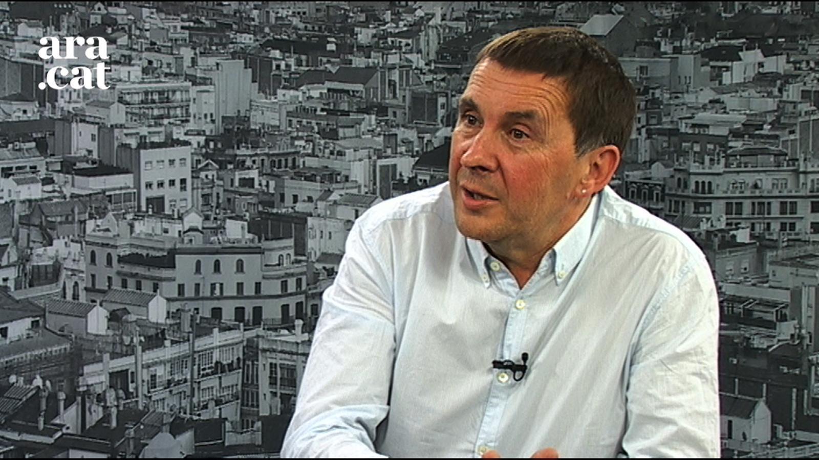 """Otegi: """"L'Estat té operatius de la Guàrdia Civil actius per evitar que ETA es desarmi"""""""