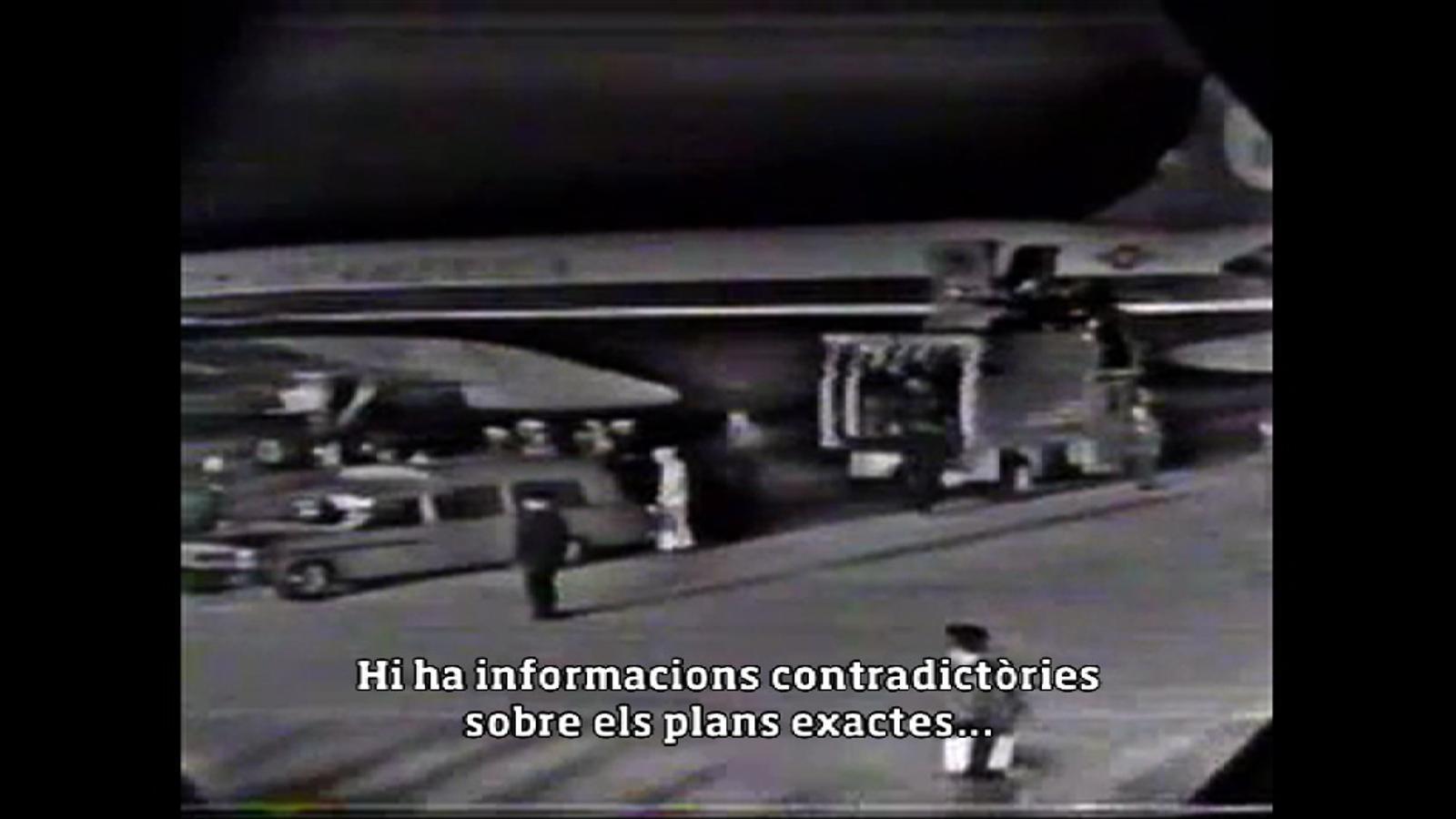Un magnicidi televisat (4): L'arribada del fèretre de Kennedy a Washington