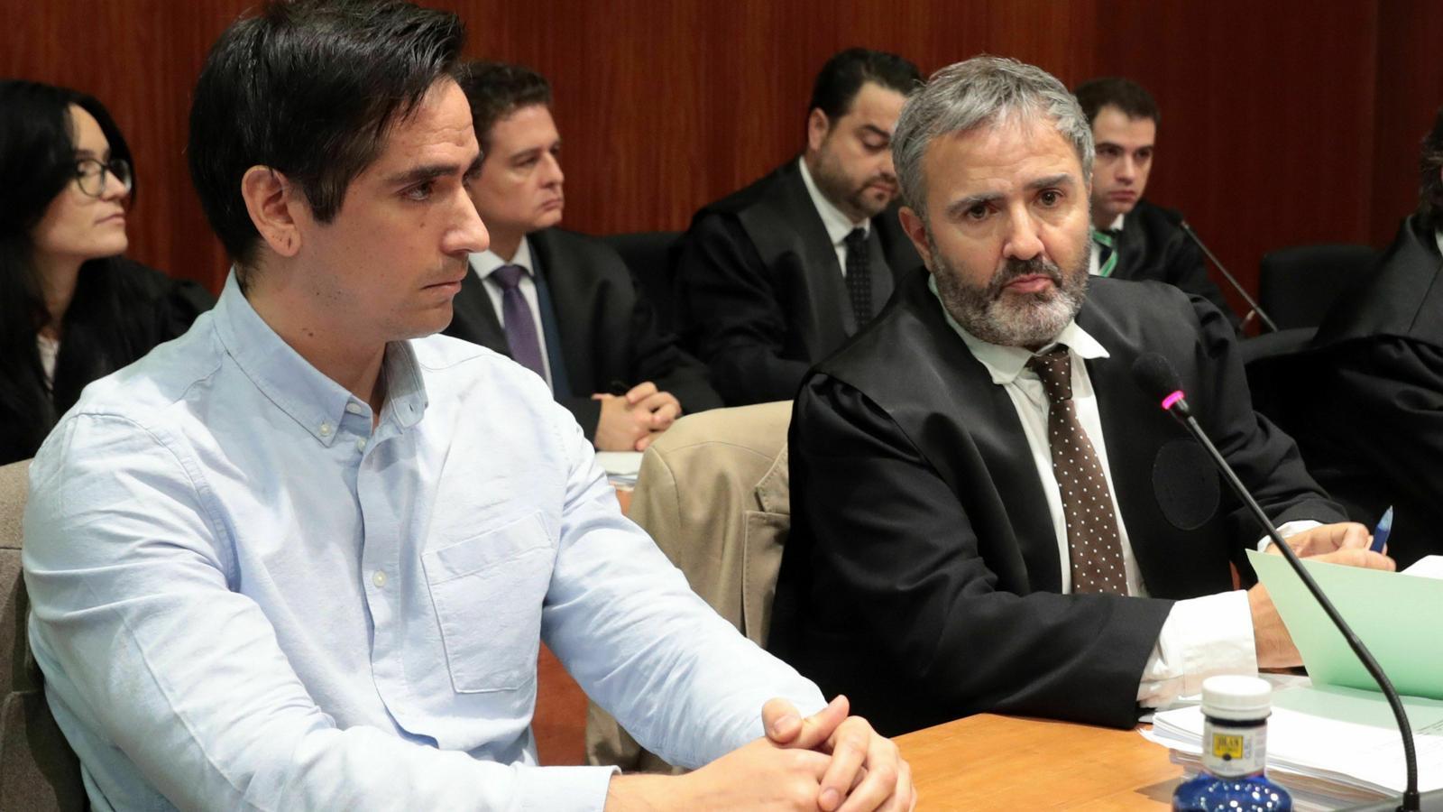 Rodrigo Lanza, condemnat a cinc anys per la mort d'un home en una baralla