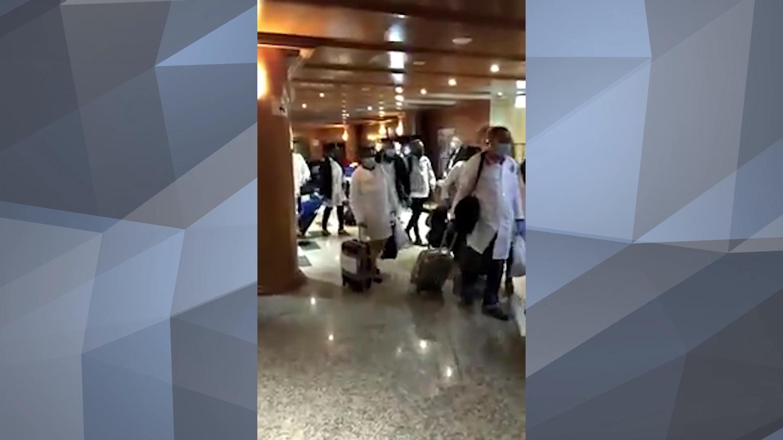 Arribada metges cubans