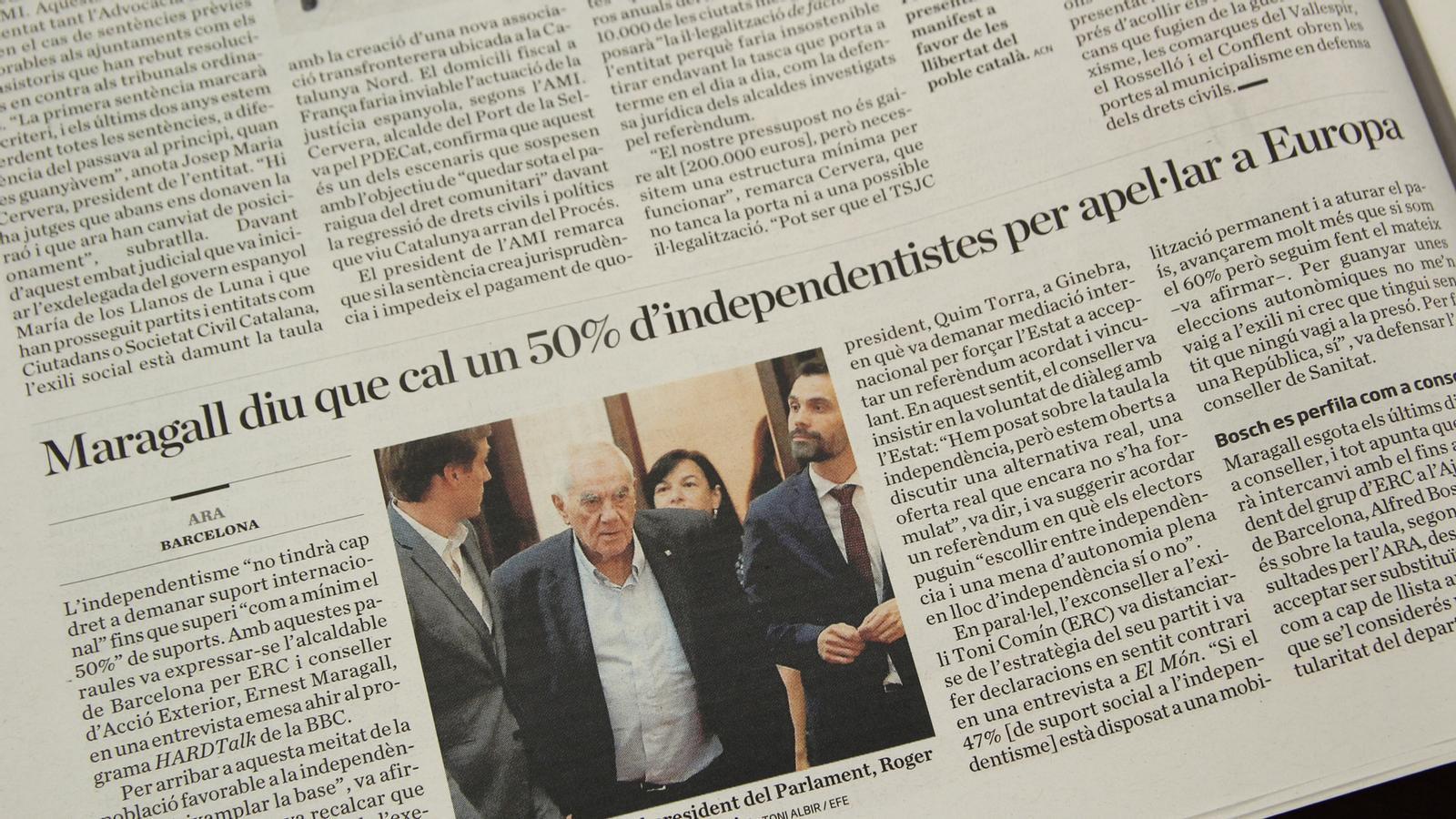 L'anàlisi d'Antoni Bassas: 'L'independentisme és una olla de grills'