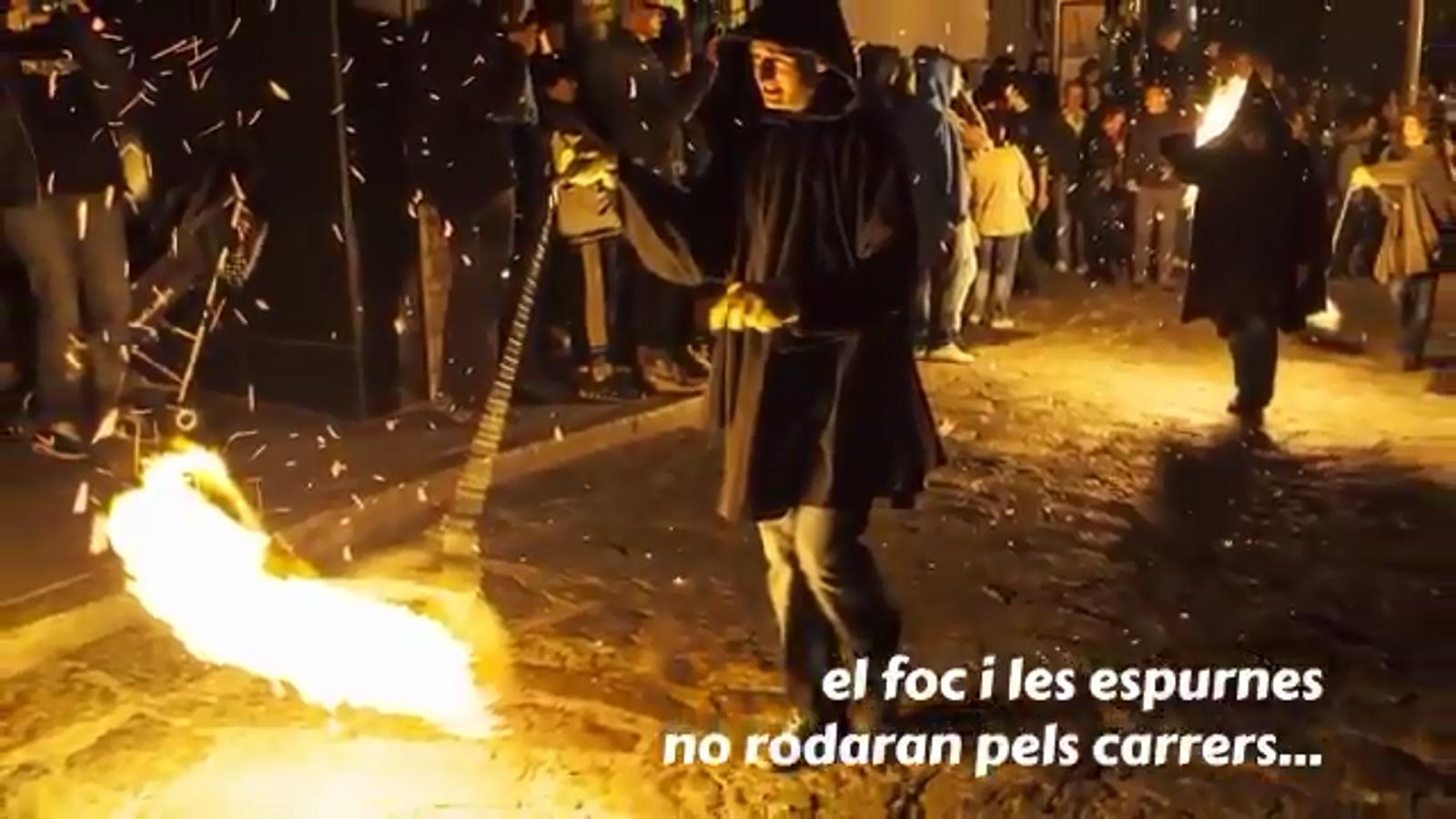 Els fallaires d'Andorra la Vella anuncien l'ajornament de la cremada de falles d'enguany