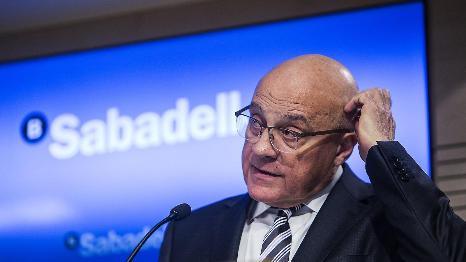 El Banc Sabadell  retallarà la plantilla  en 2.000 persones