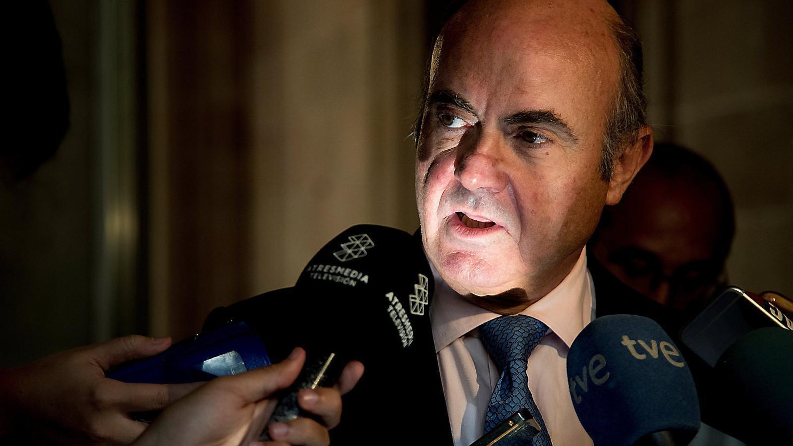 Espanya admet que el Procés  posa en risc l'economia estatal