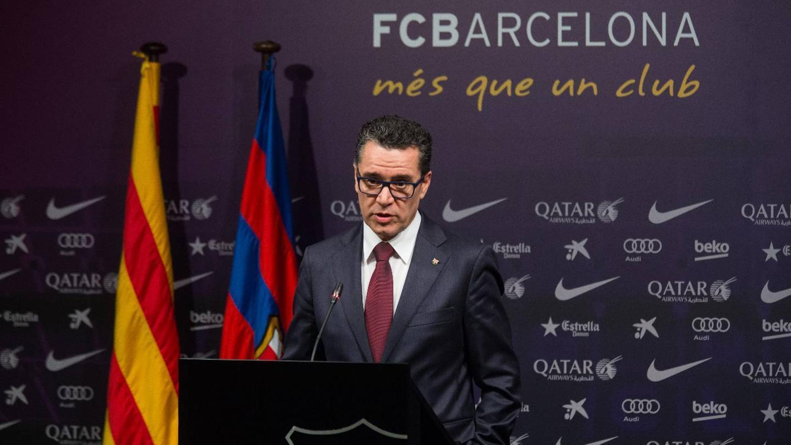 Josep Vives, portaveu del Barça