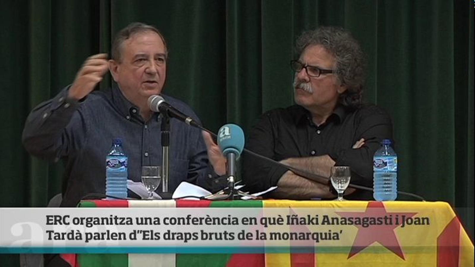 Anasagasti: El rei em va dir un dia: 'S'ha de ser burro com jo per anar al Brasil amb la reina'