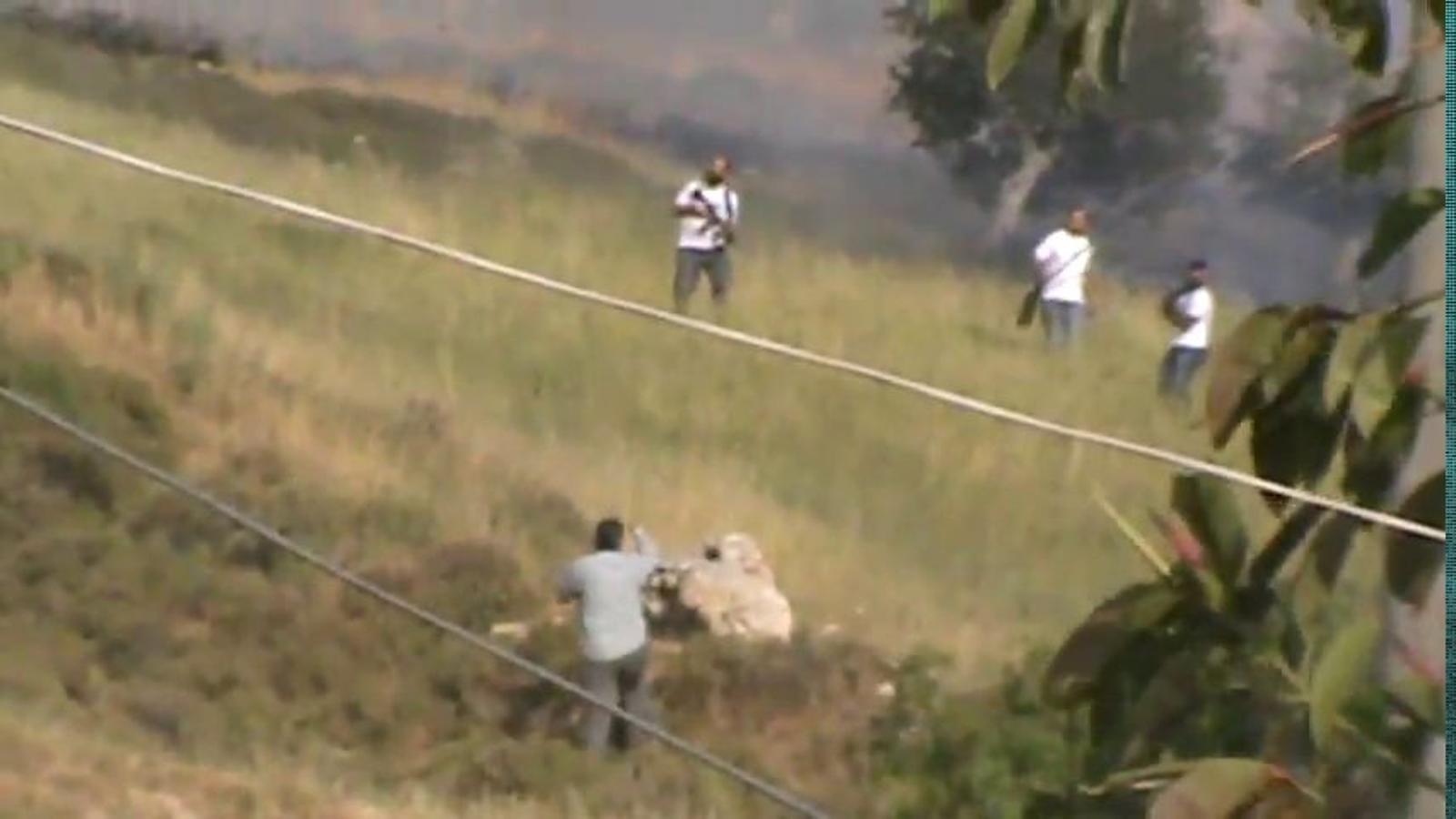Colons israelians disparen contra palestins desarmats