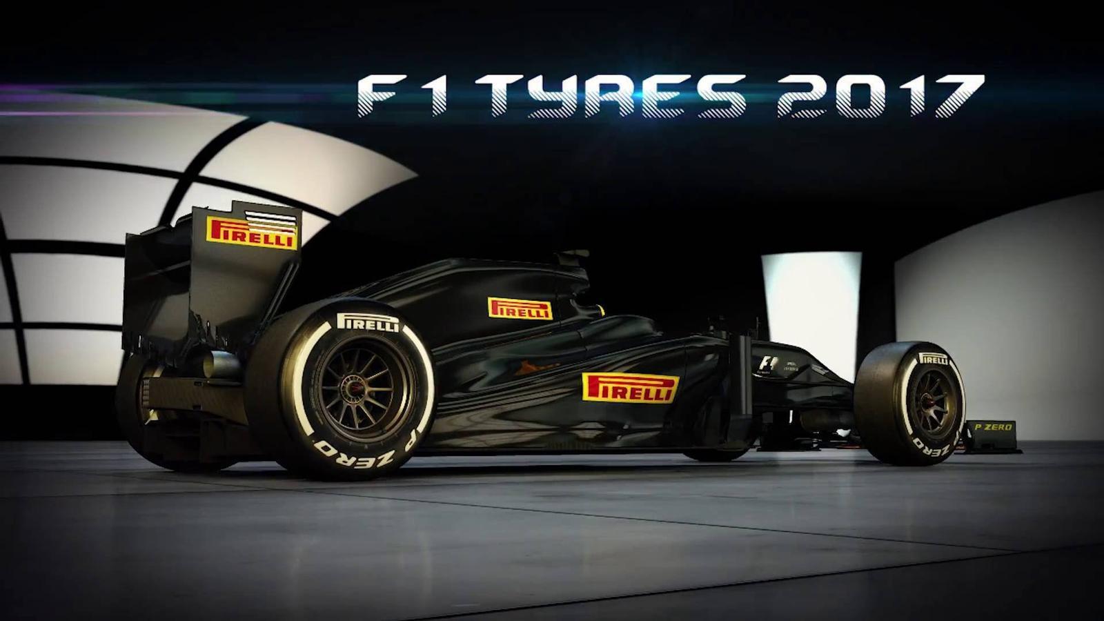 Les novetats dels Fórmula 1 del 2017: els pneumàtics