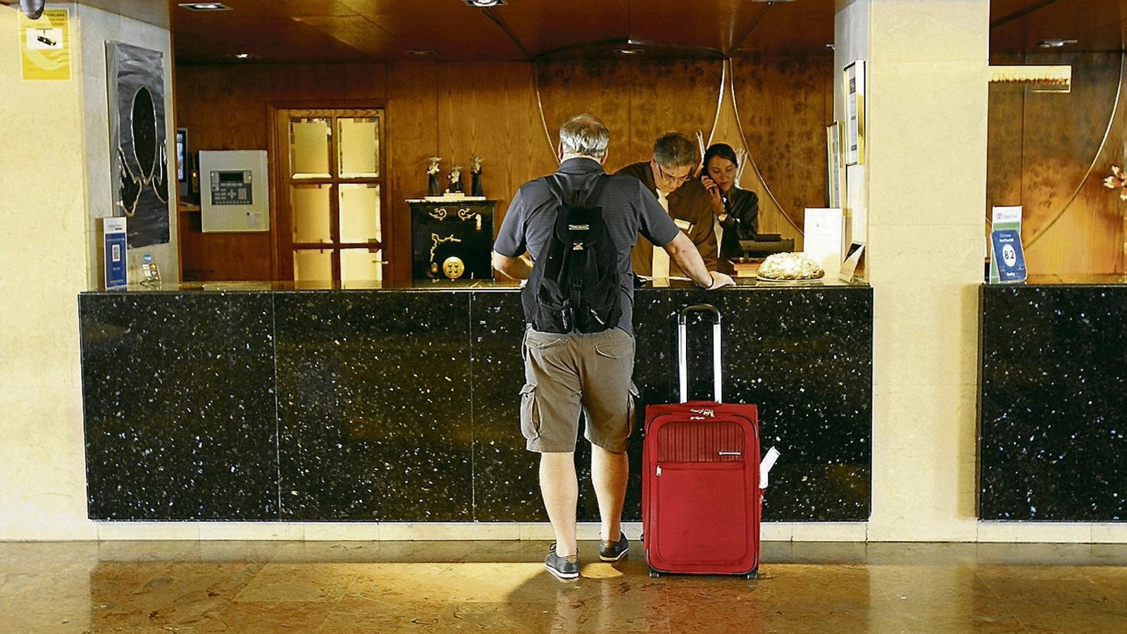 Els hotels s'han acostumat a una major rotació dels seus clients, que fan estades més curtes.