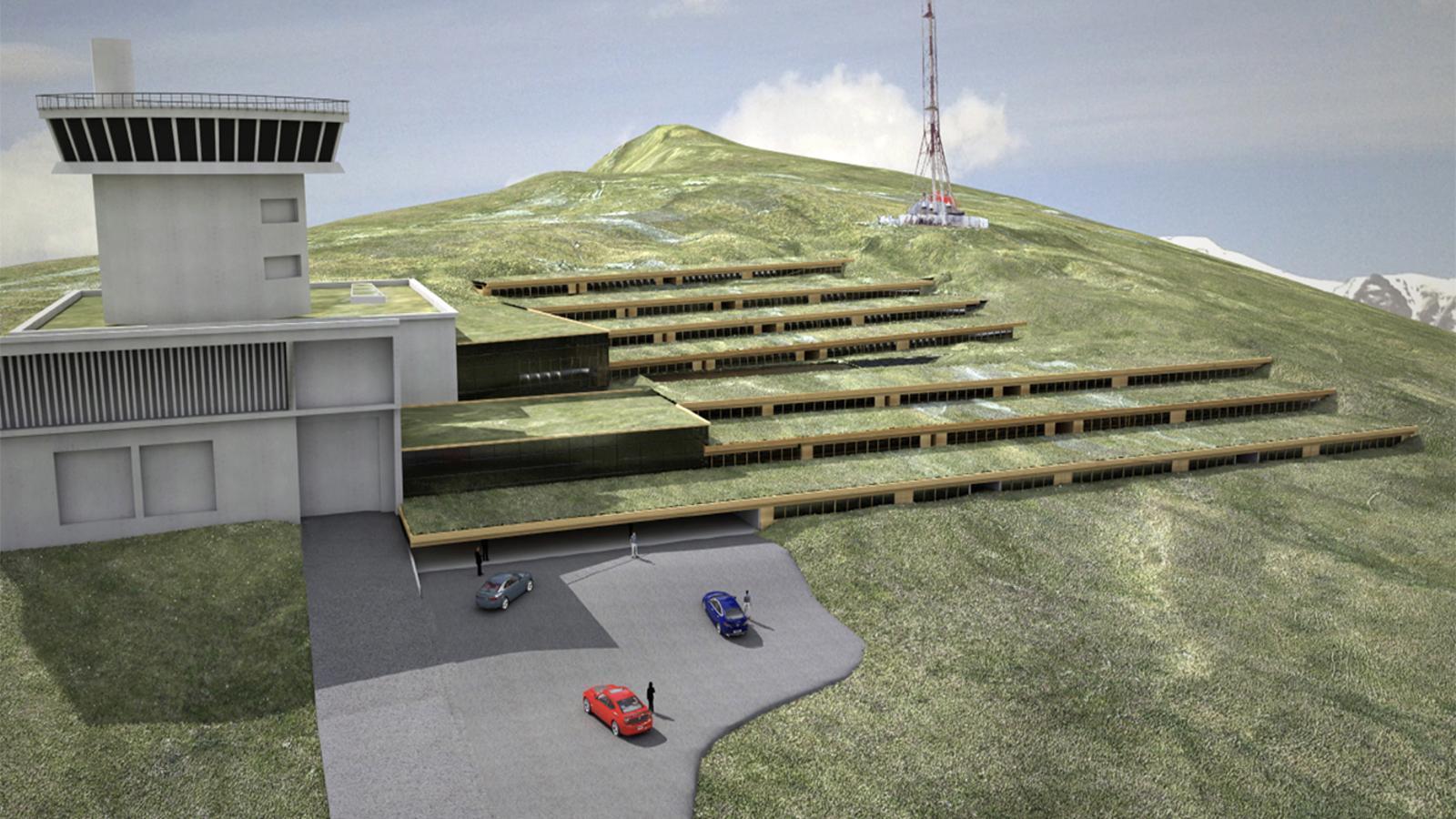 Així serien les instal·lacions vistes des de fora del Cramea. / CES2508