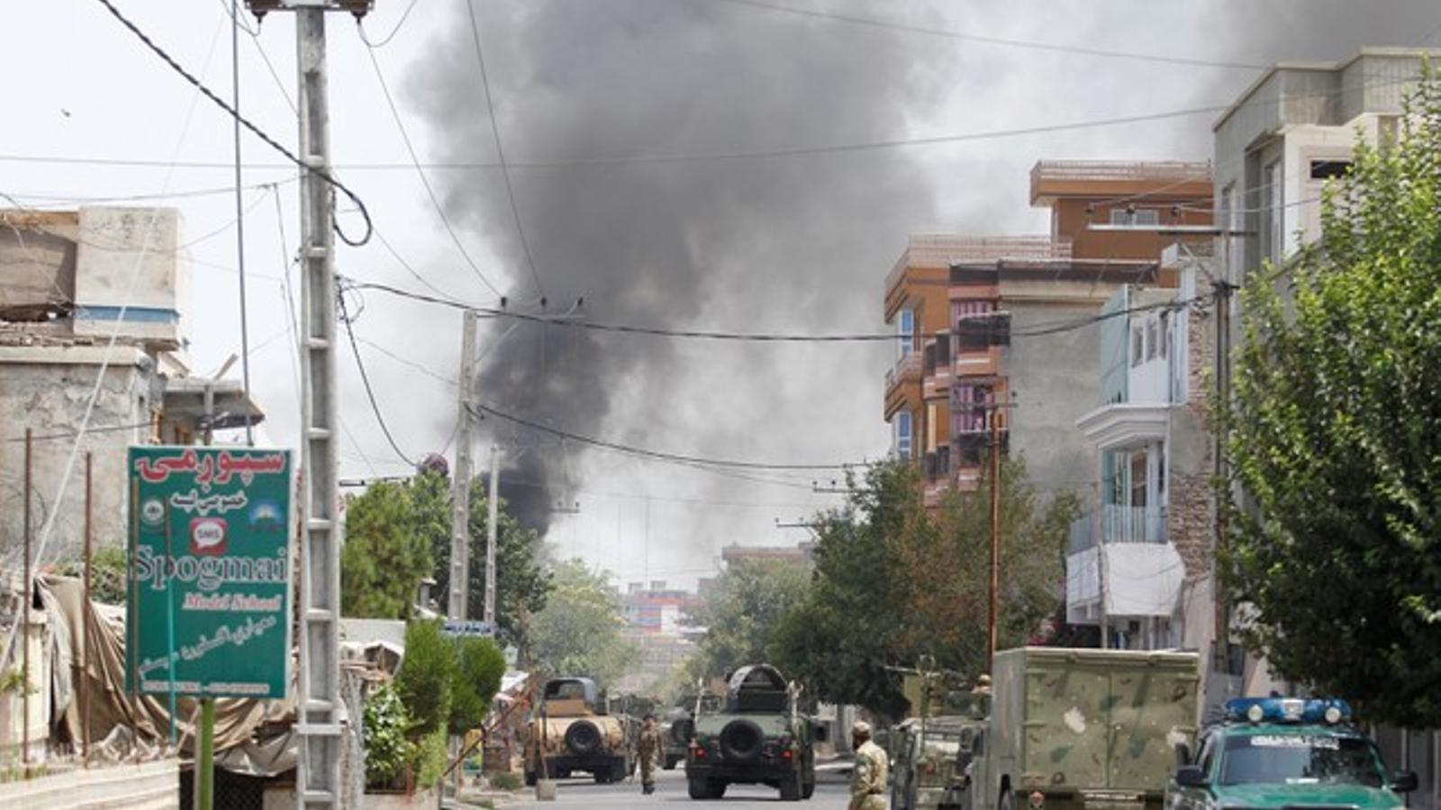 Ataquen una escola de llevadores a l'Afganistan