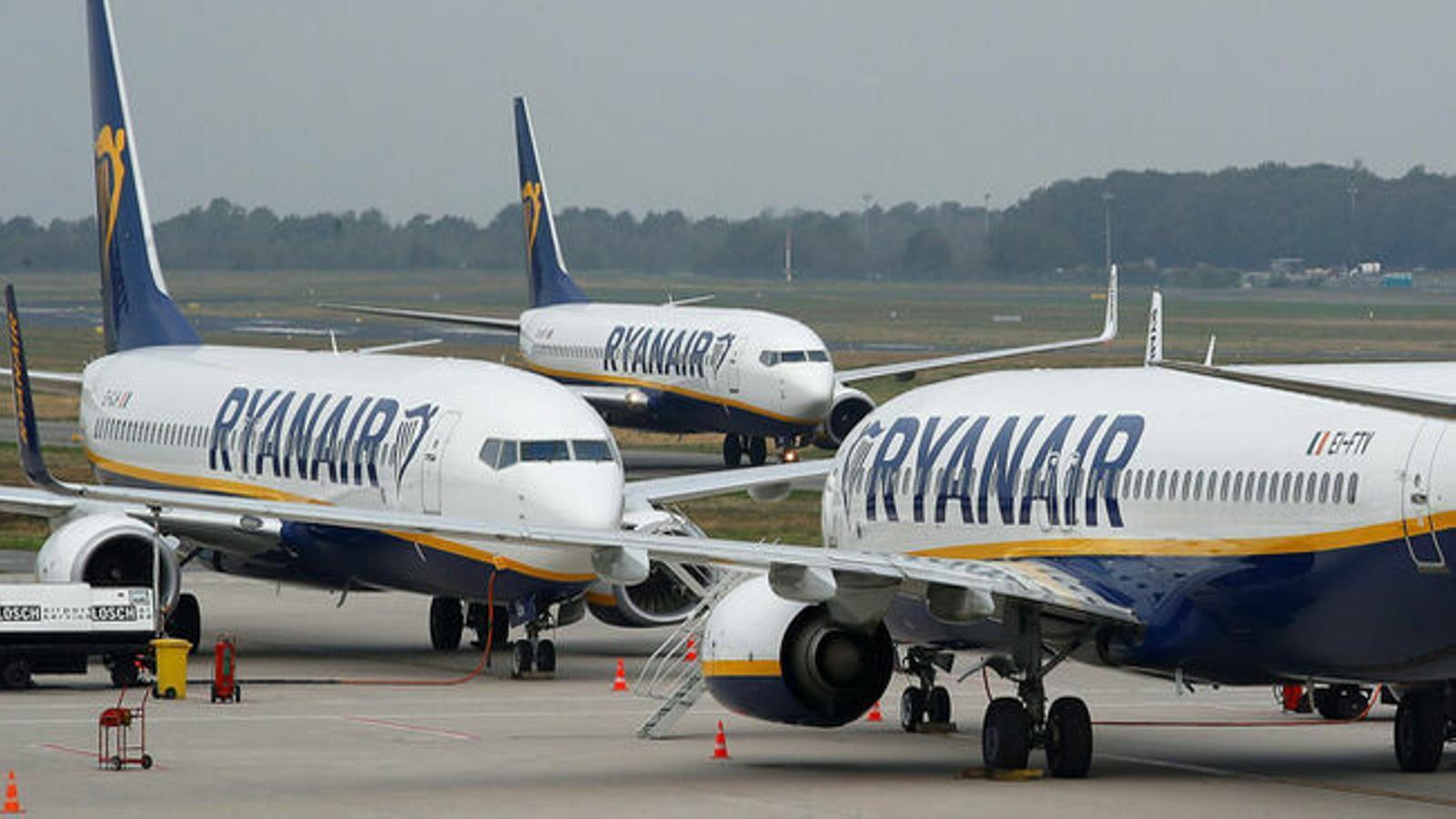 Sanció a Ryanair de 44.000 euros per vulnerar el dret a la vaga