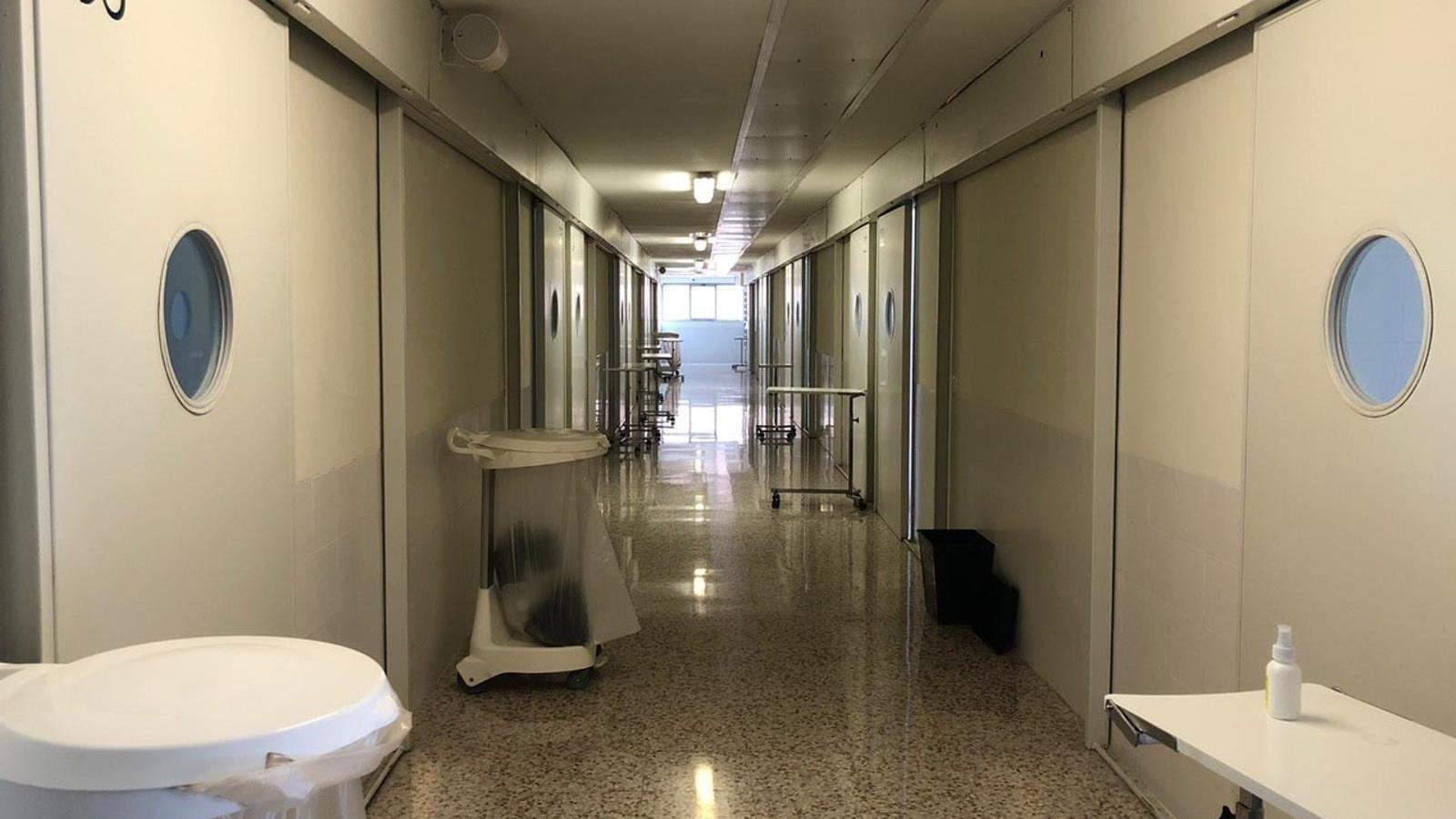 Les instal·lacions de Brians 2 recuperades per atendre presos amb covid-19 lleus