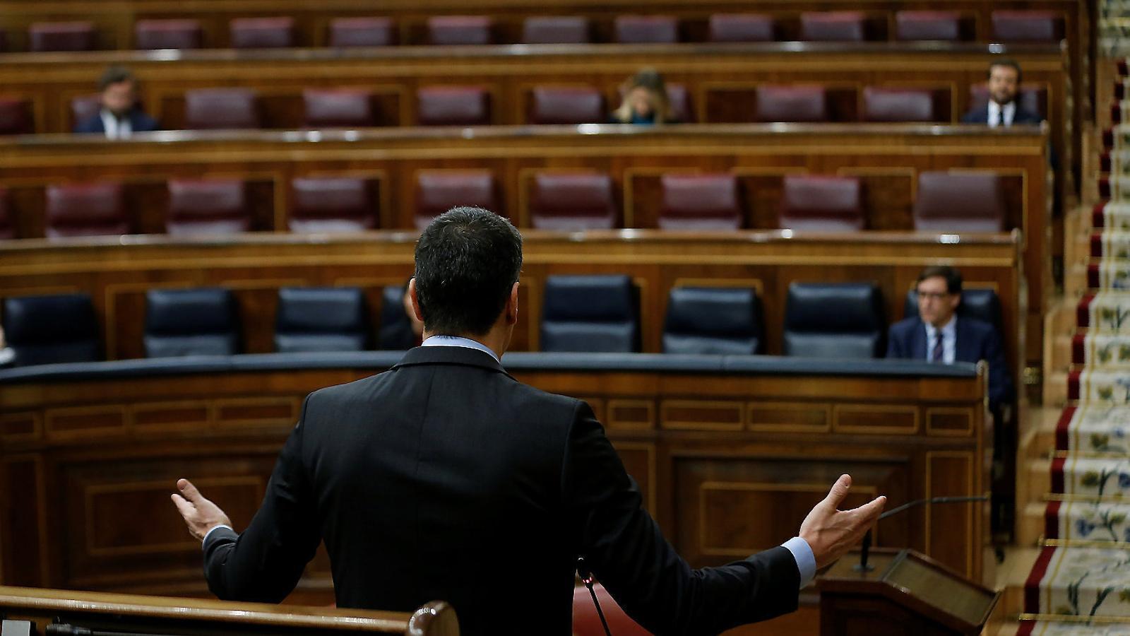 EN DIRECTE | Sessió de control al Congrés