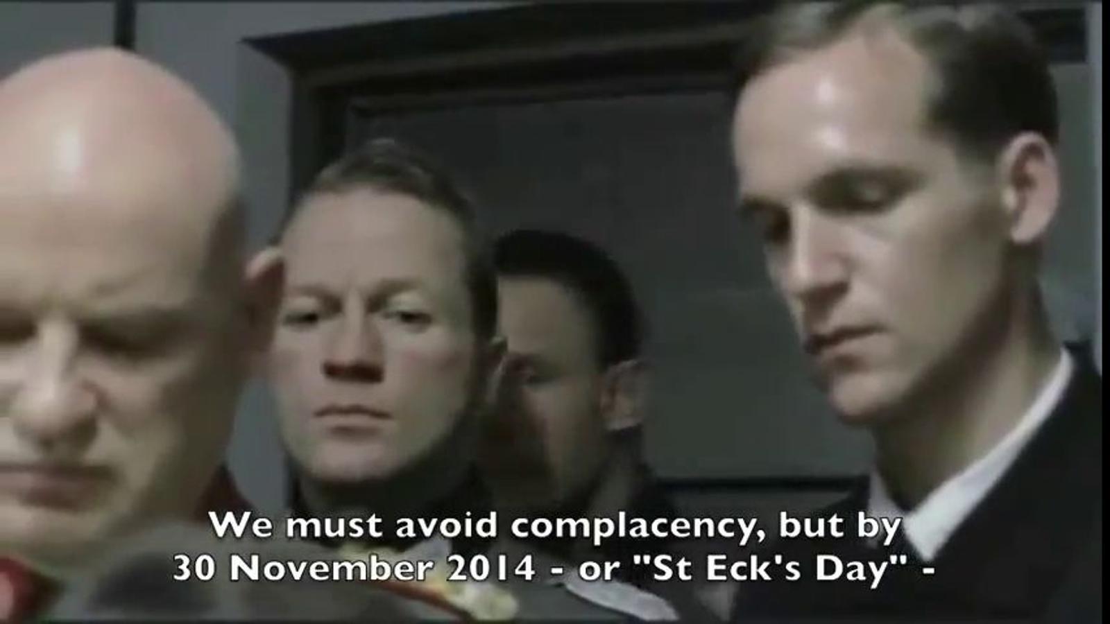 El vídeo dels laboristes britànics on es compara Alex Salmond amb Hitler