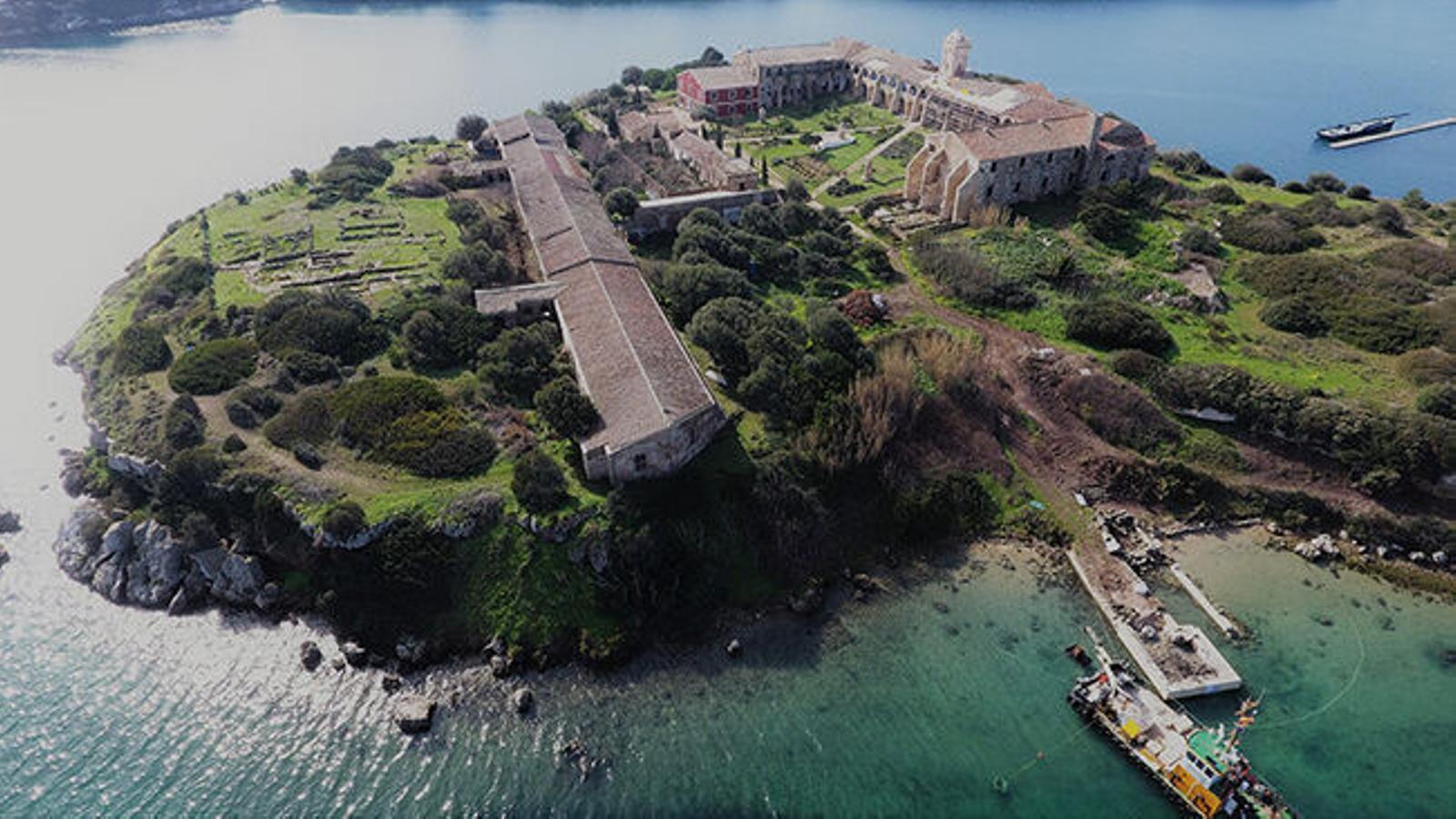 L'illa del Rei es convertirà en el futur en un referent cultural i artístic.