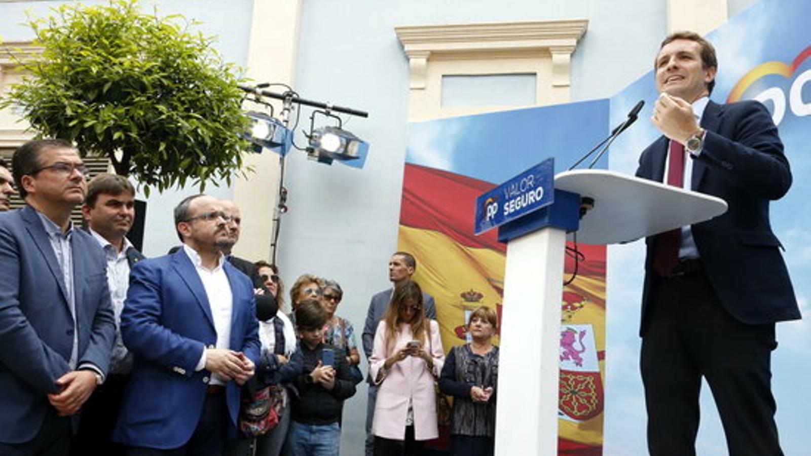 """Pablo Casado avisa que posarà """"ordre"""" a Catalunya quan arribi a la Moncloa: """"Jo no vull un apartheid a Espanya"""""""