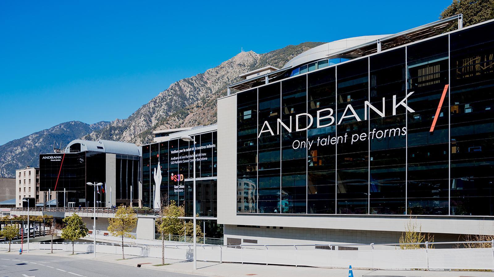 L'edifici d'Andbank. / ANDBANK