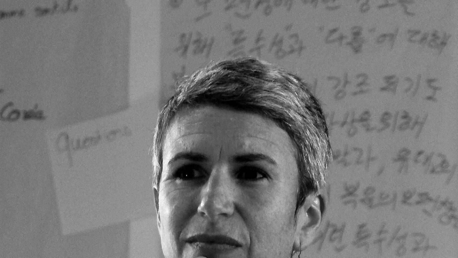 """Marion Muller-Colard""""De vegades ens cal un mot d'autoritat per treure'ns del Plany"""""""